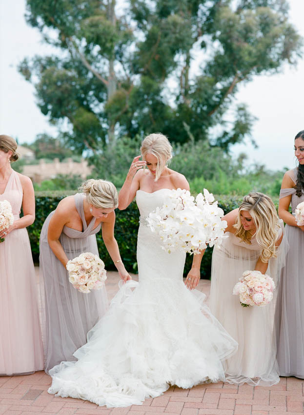 Pelican Hill wedding by Napa based Erin Hearts Court