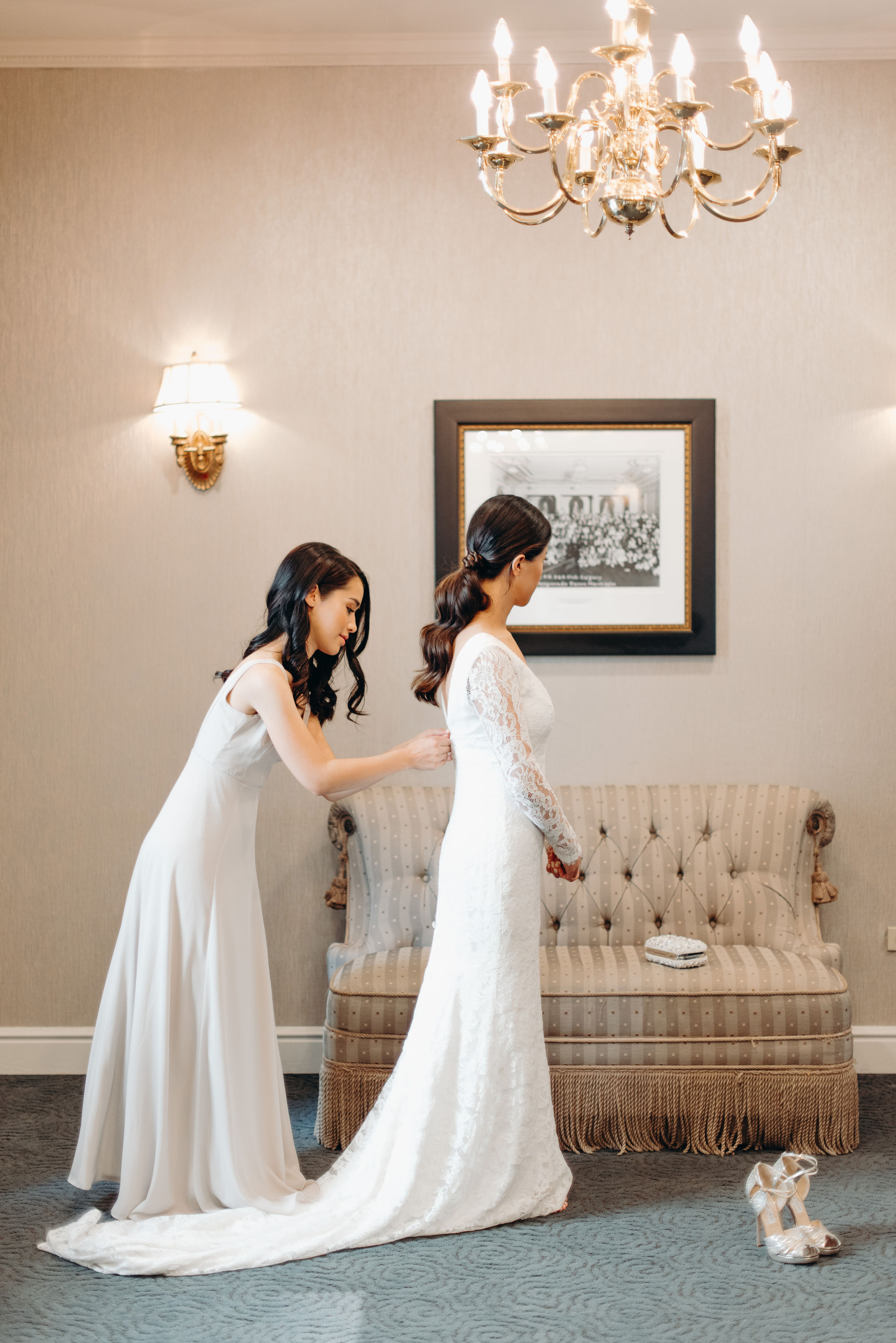 Fairmont Palliser Bridal Getting Ready