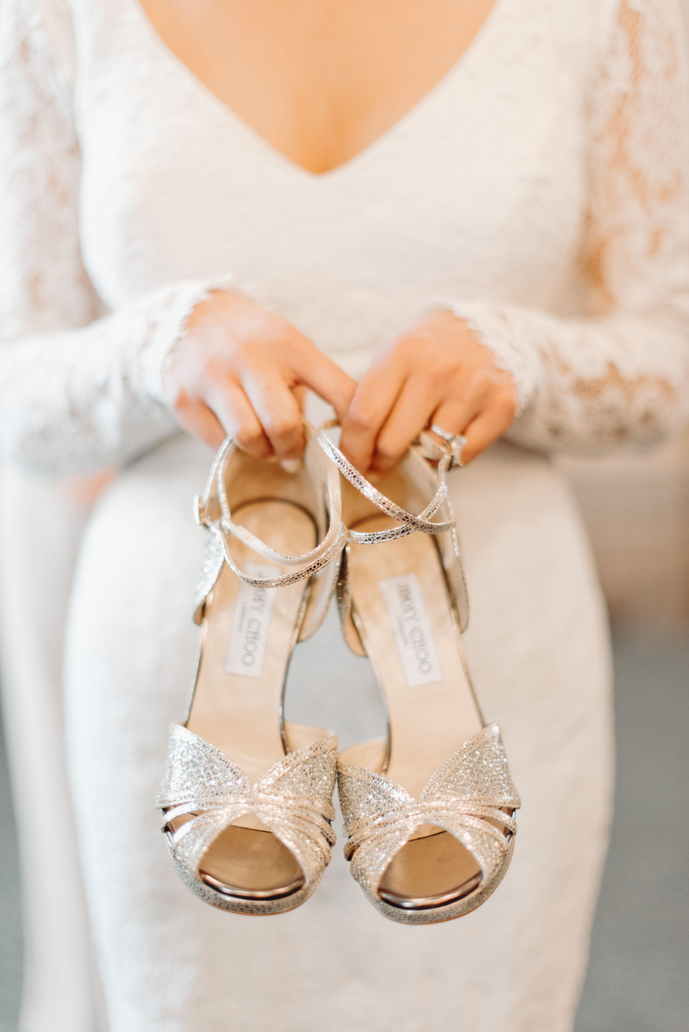 Paperdoll The Brand Jimmy Choo Wedding Shoes