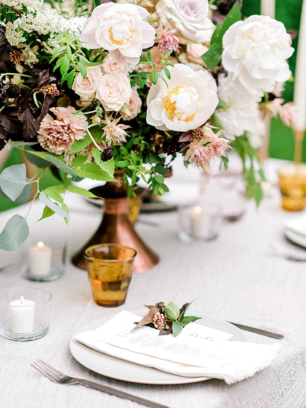 Garden Inspiration - FEATURED ON GREY LIKES WEDDINGS / SPRING 2018Design + Styling: Paperdoll + Photography: Justine Milton + Florals: Fern & Frond + Stationery: Art + Alexander + Dress: Tatyana Merenyuk via Pearl & Dot + Hair and Makeup: SimplyME Canmore + Venue: Deane House