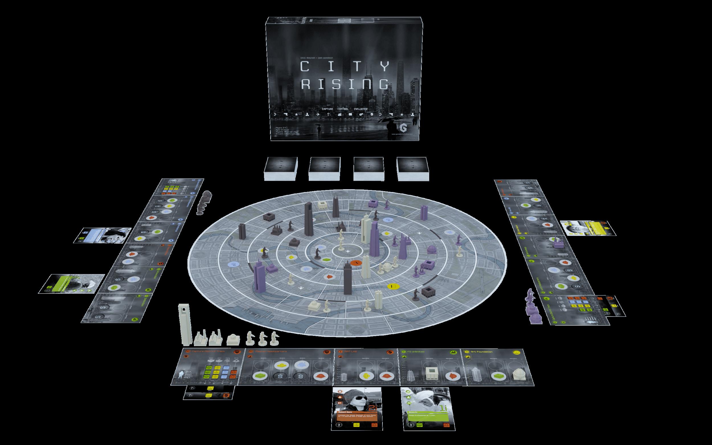 City Rising Game Setup