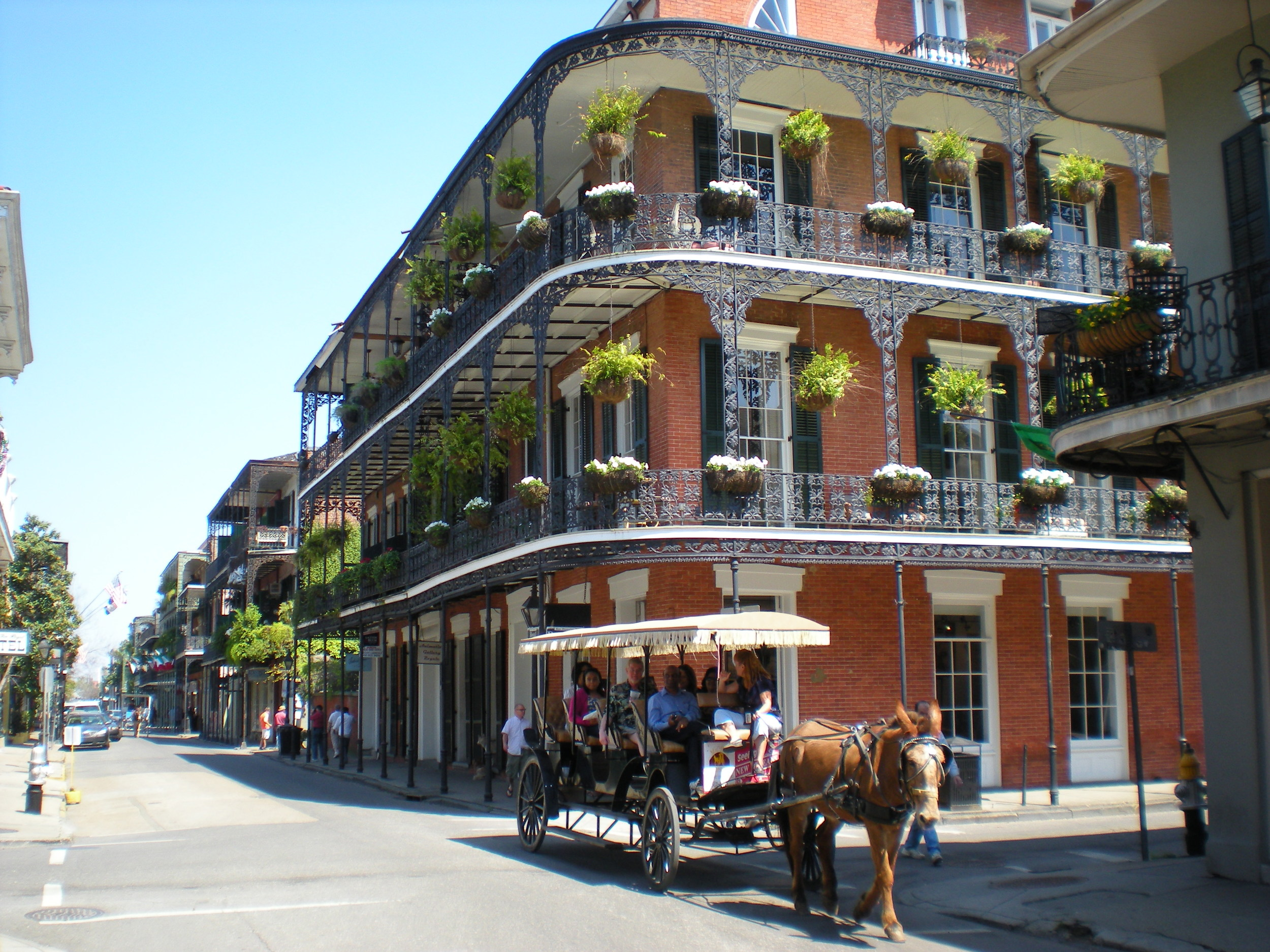 French Quarter, New Orleans,  Wikimedia