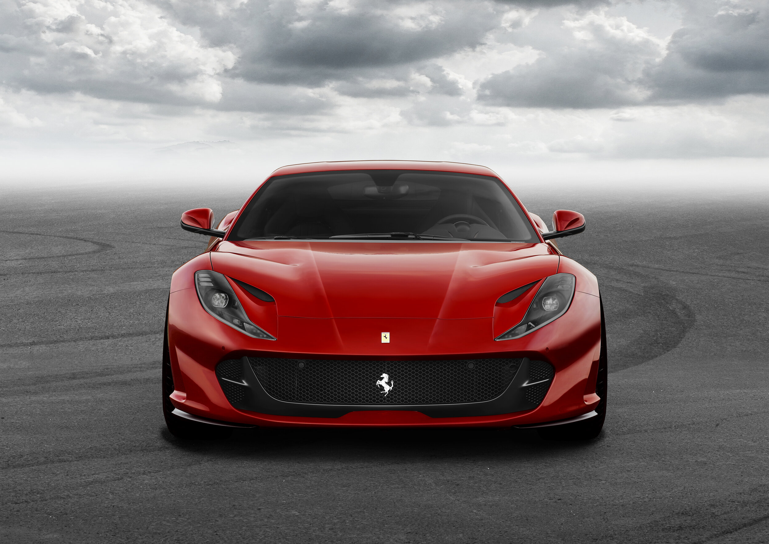 The 812 Superfast: Ferrari's most powerful production car to date displays a noble V12 Prancing Horse Pedigree -