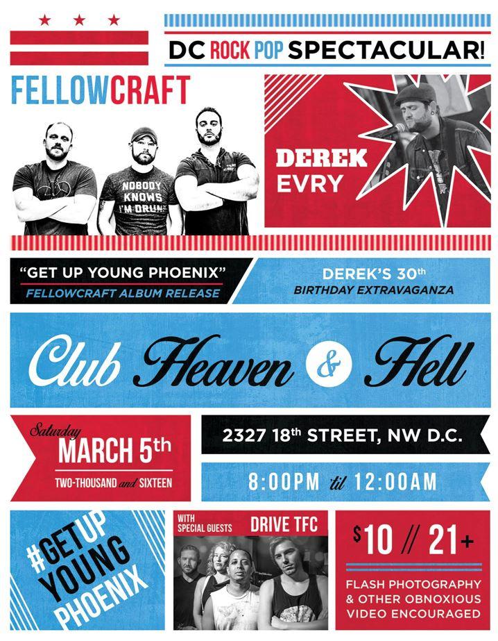 Fellowcraft Album Release Show Poster