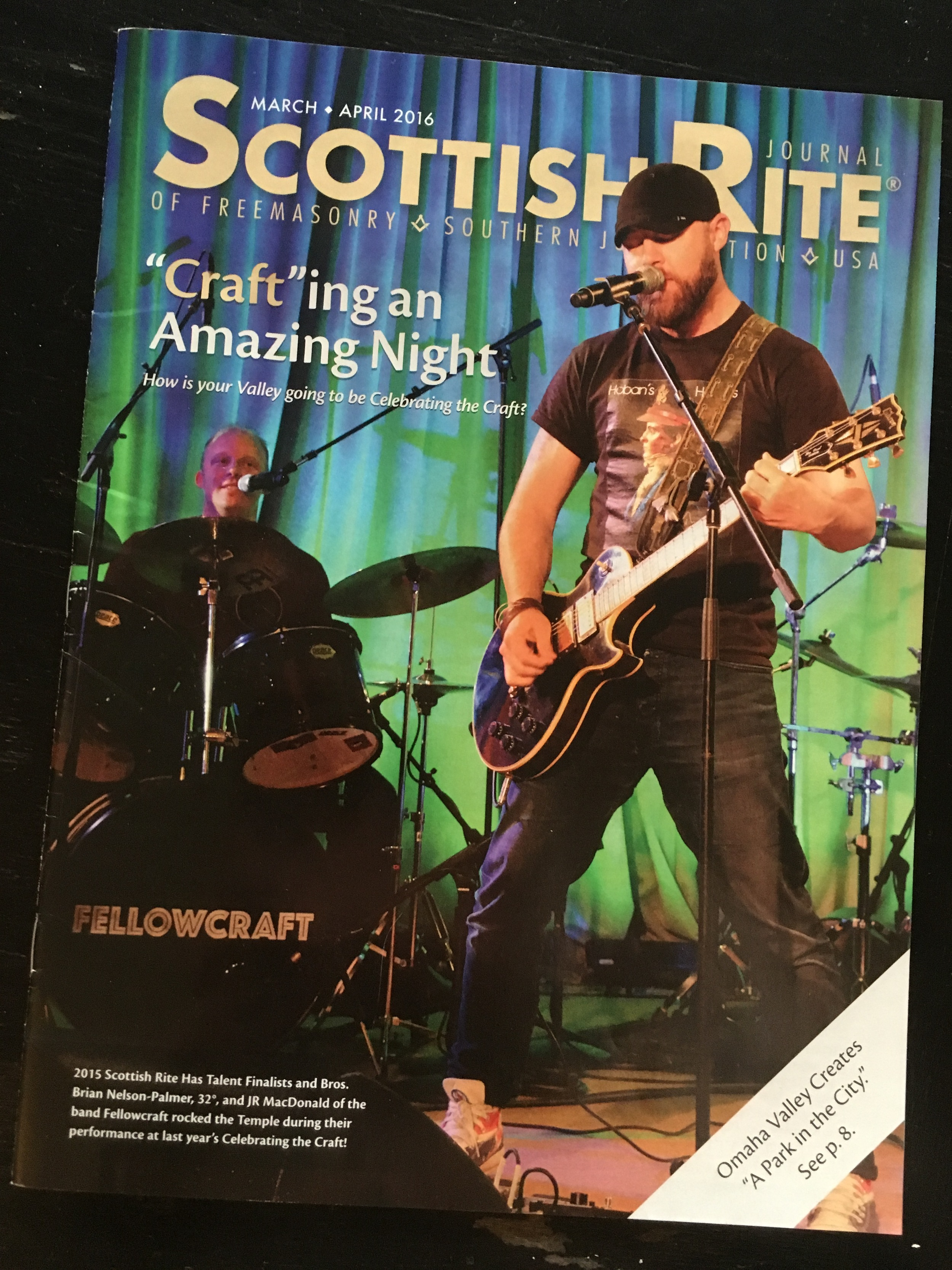 Fellowcraft - Magazine Cover - Scottish Rite Journal