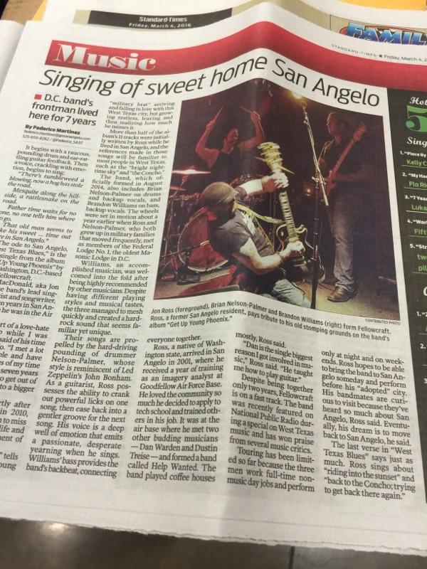 Fellowcraft San Angelo Standard Times