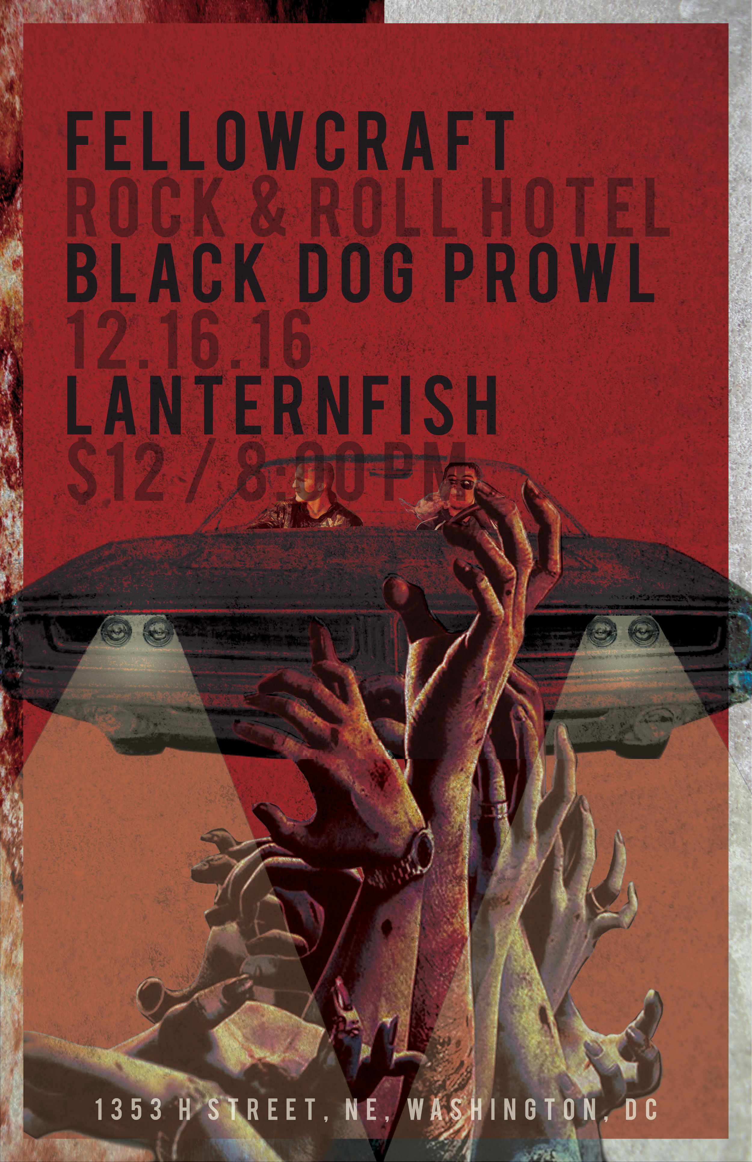 Fellowcraft Black Dog Prowl Lanternfish RocknRoll Hotel