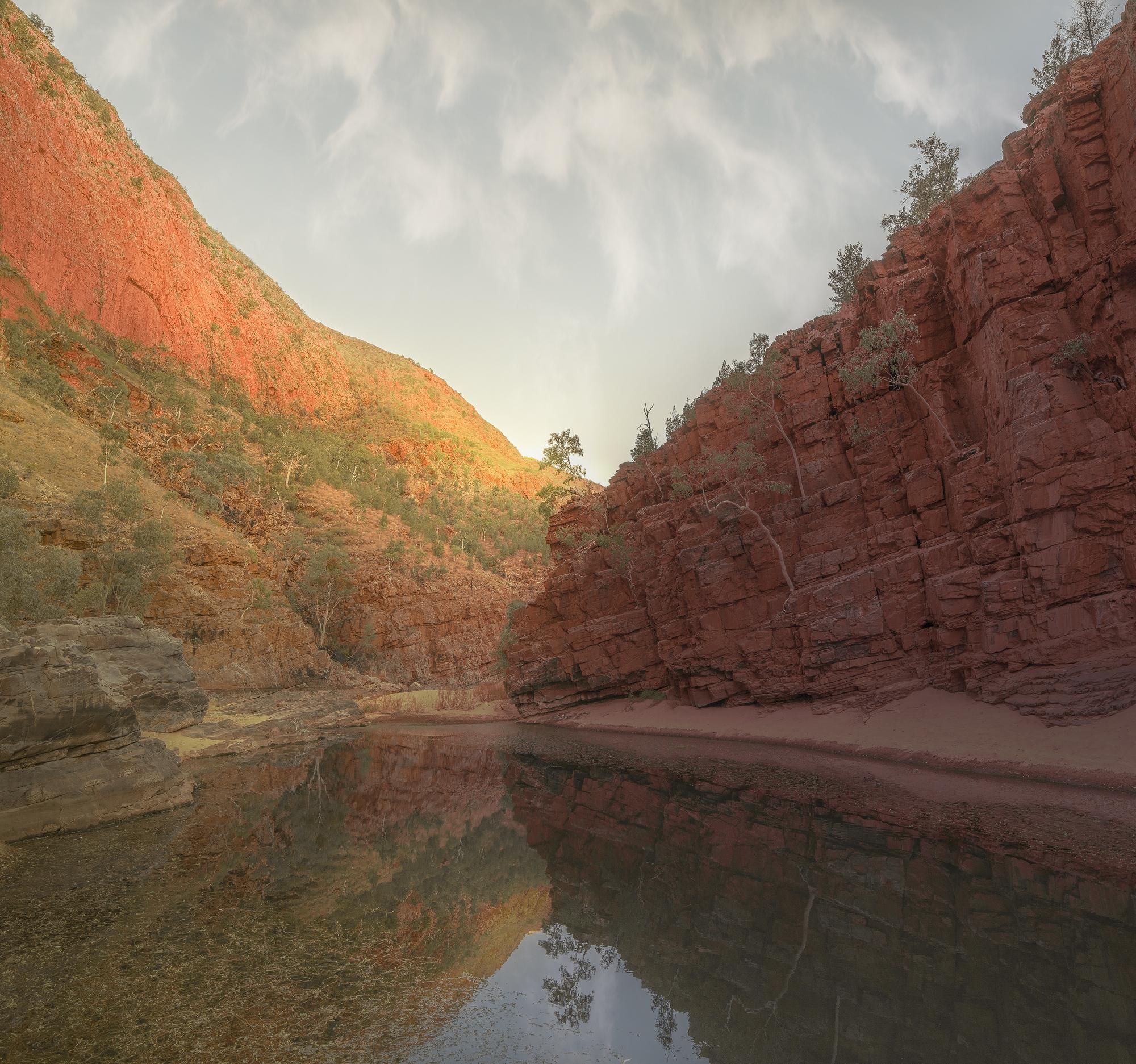 Ormistion Gorge - Second Pool