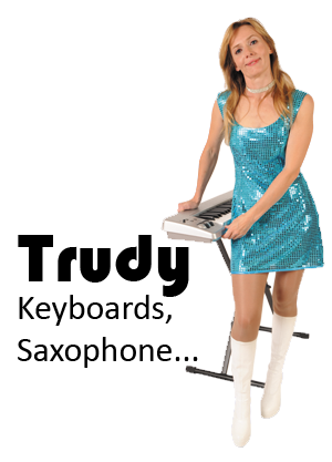 As a piano, clarinet and saxophone teacher, Trudy is a true seasoned musician. She started performing in clubs at the early age of 14 with her father in British army based clubs in Germany and England.  Since moving to Australia she has performed with many acts around this country, most recently in Adelaide with Planet Square.