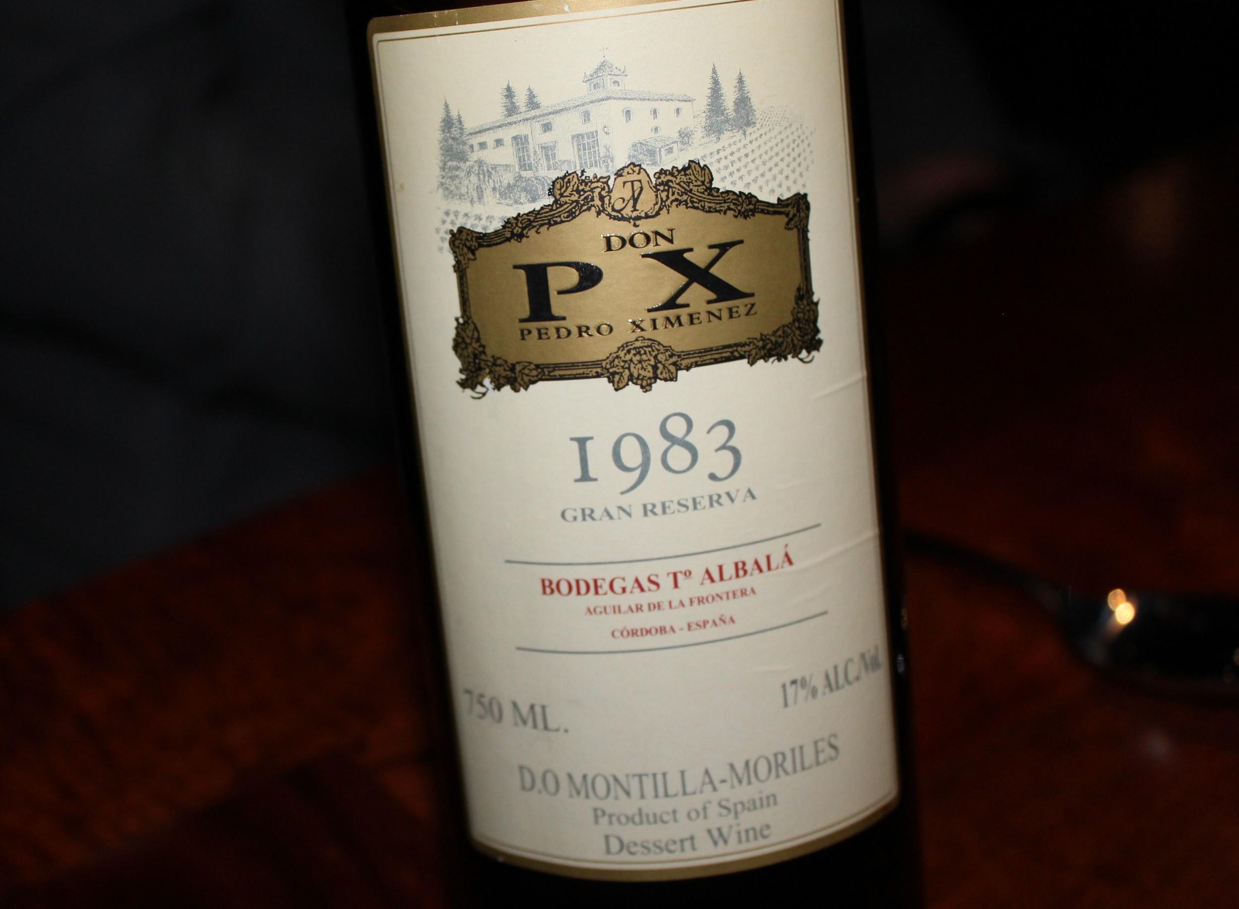 Don PX Gran Reserva sherry