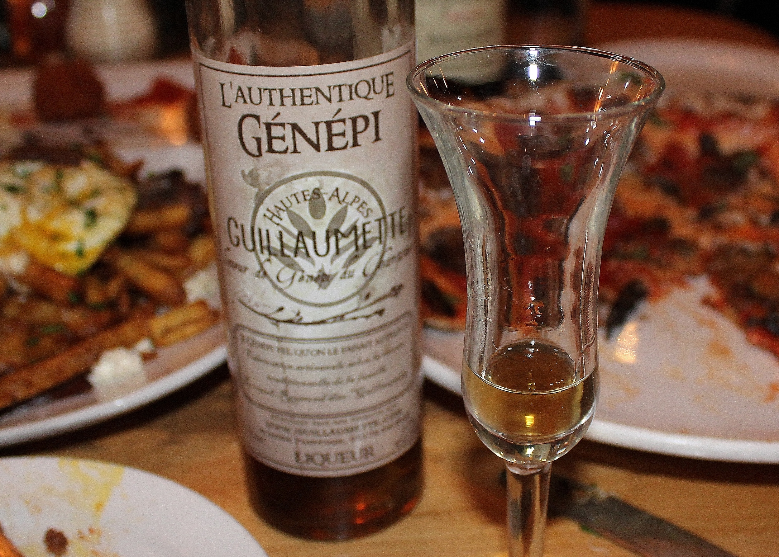 Introduced to Genepi Amaro for the first time