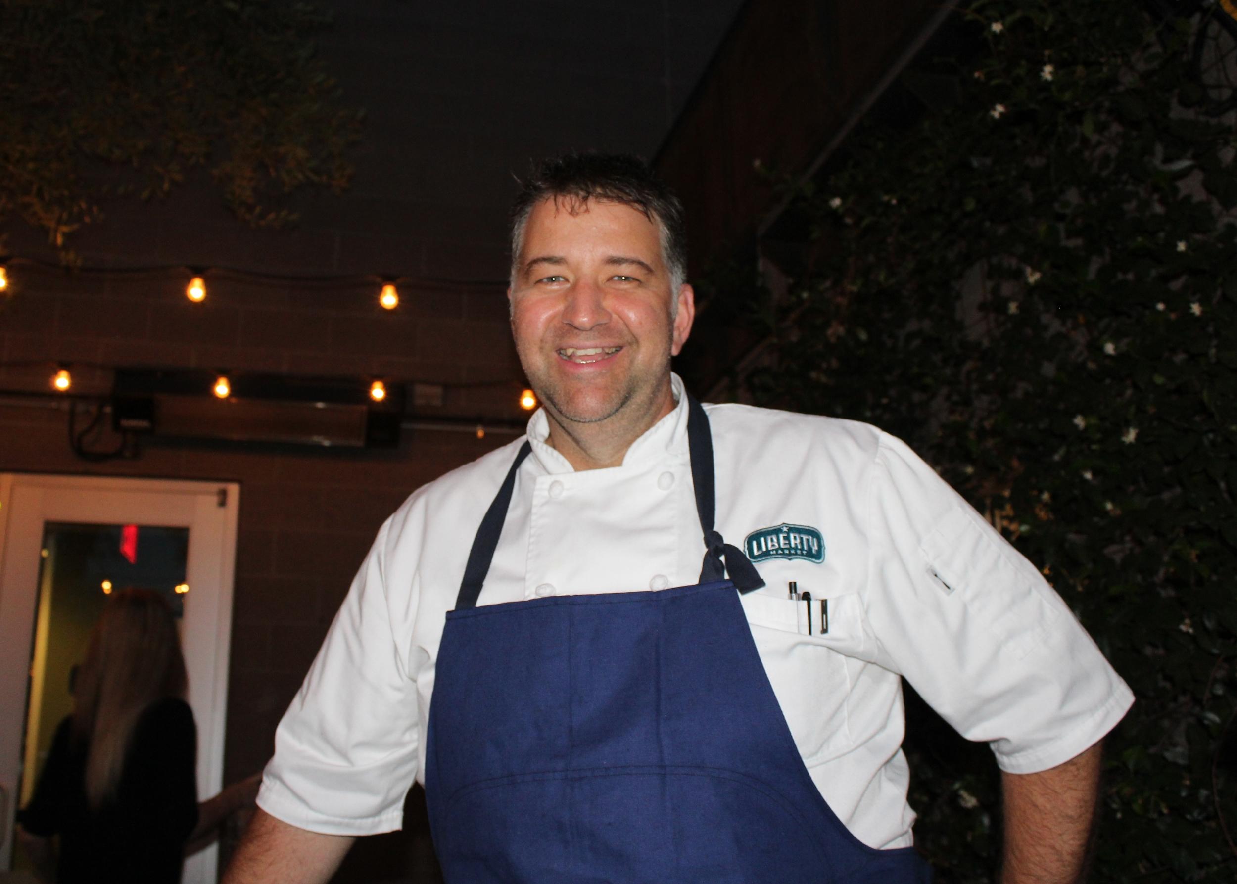Chef Traina of Liberty Market