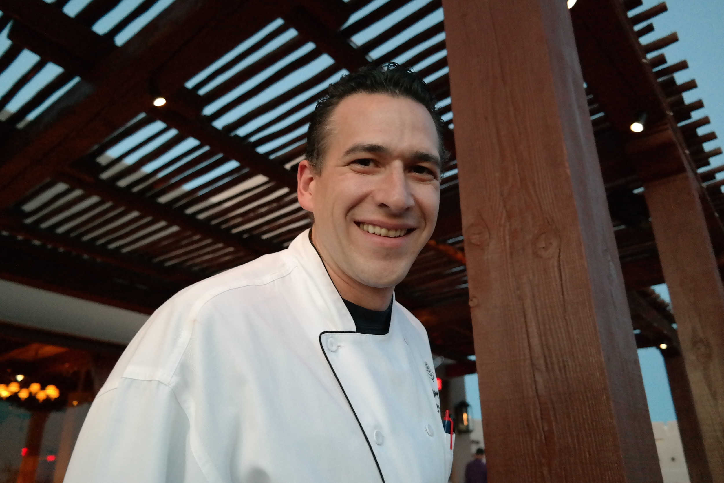 Pastry Chef Lance Whipple