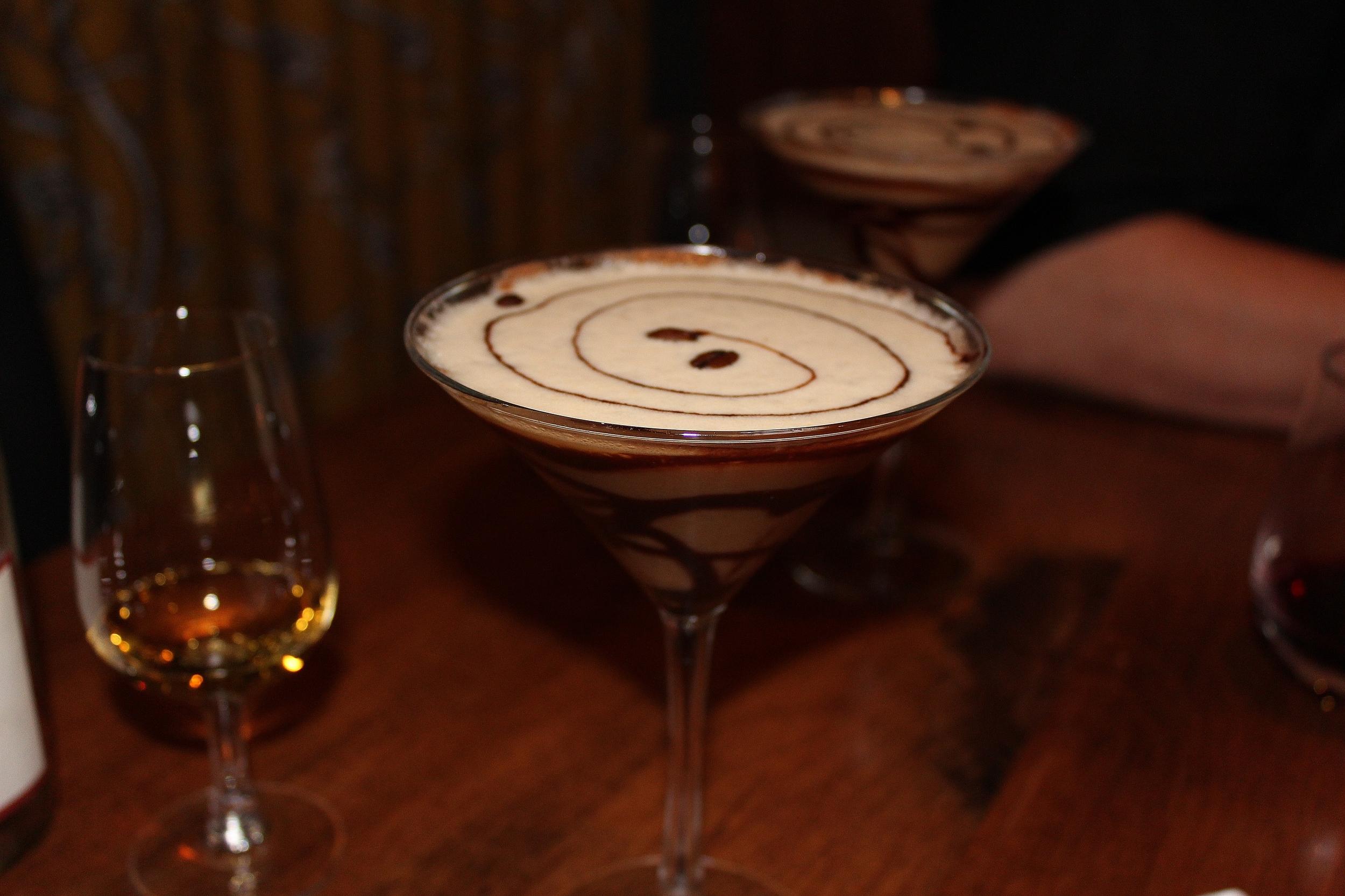 Espresso cocktail finale
