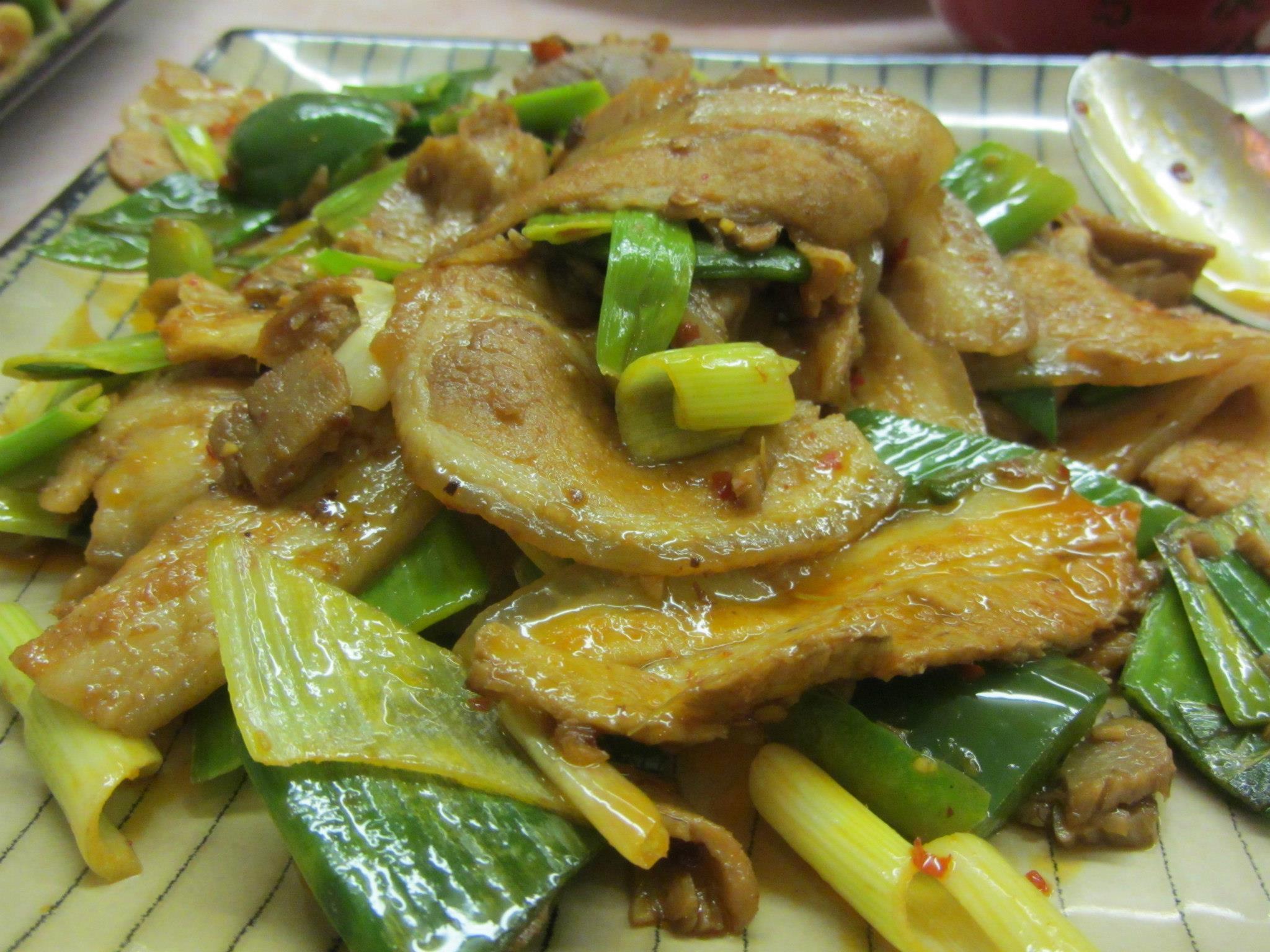 Twice-Cooked Pork/hui guo rou