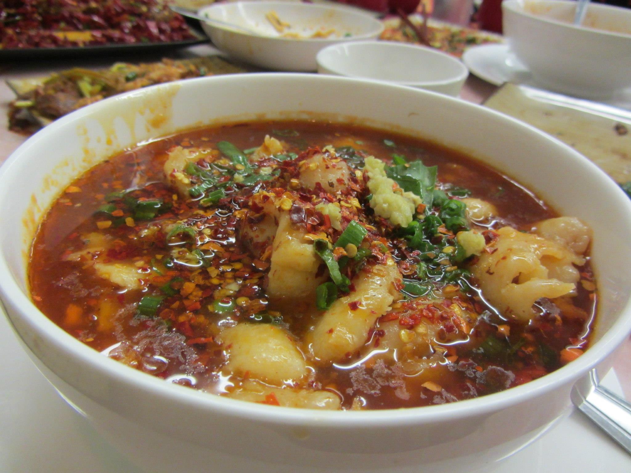 Water-Boiled Fish Fillet/shui zhu yu