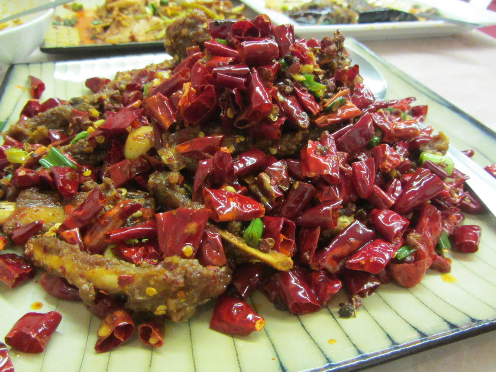 Spicy Lamb Ribs