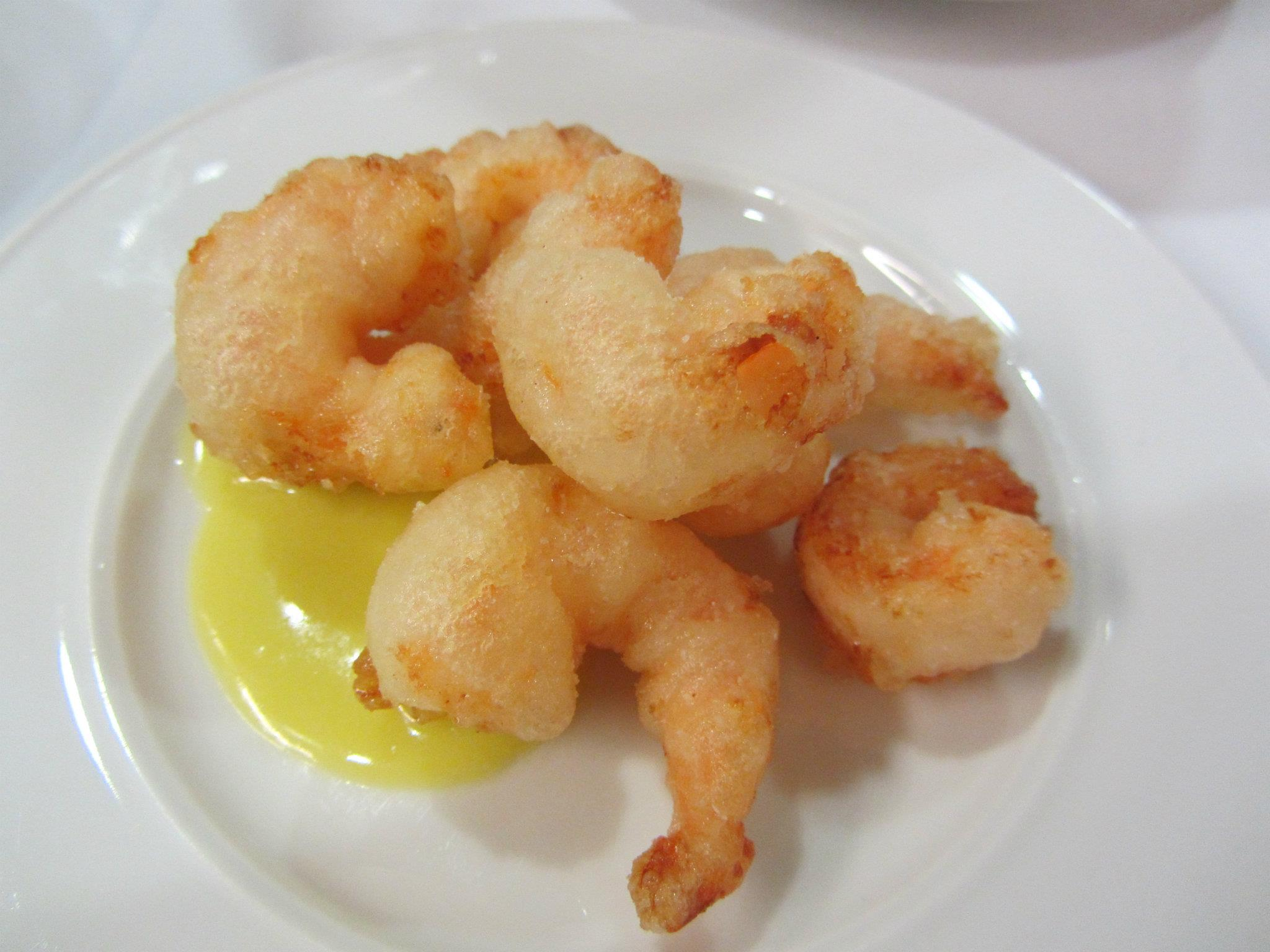 Gamberetti with Laughing Bird shrimp