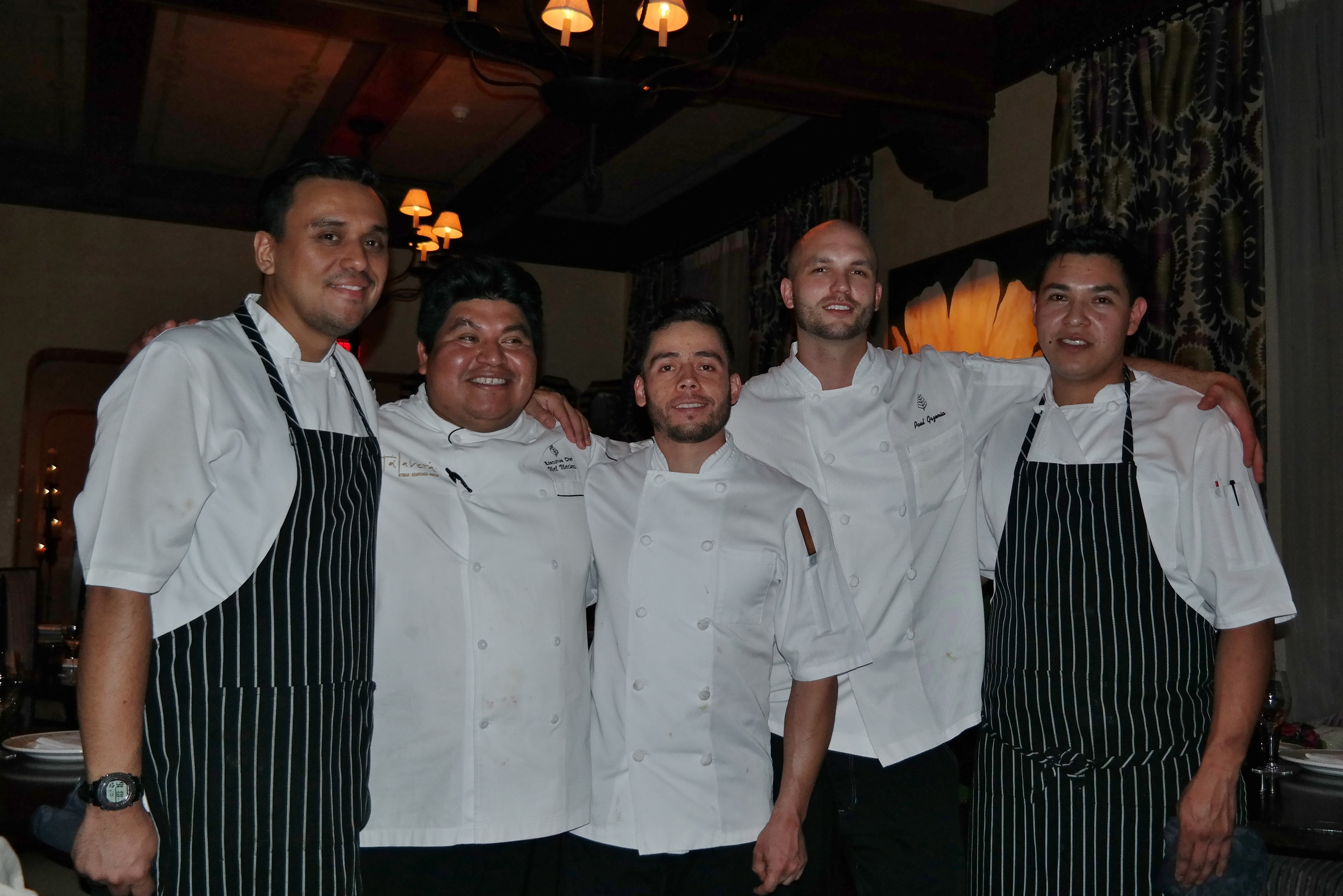 Chef Mecinas and his crew!