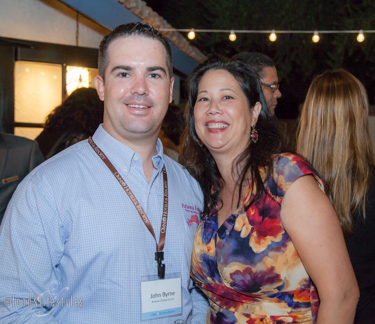 With John Byrne of the Arizona Cheese Company