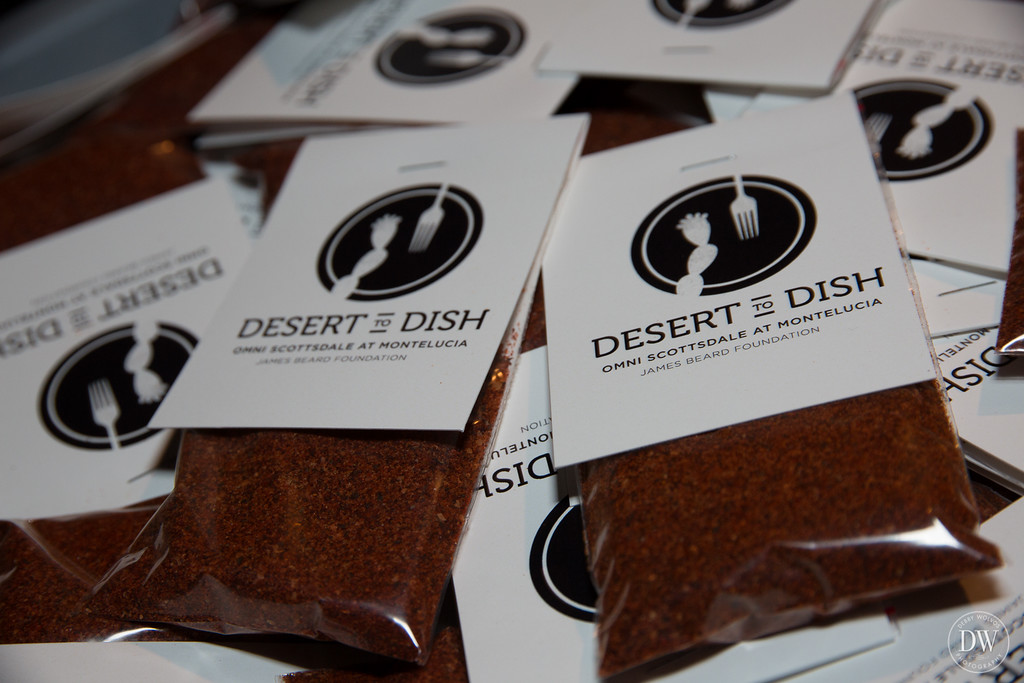 Take-home gifts of Spanish seasoning rub