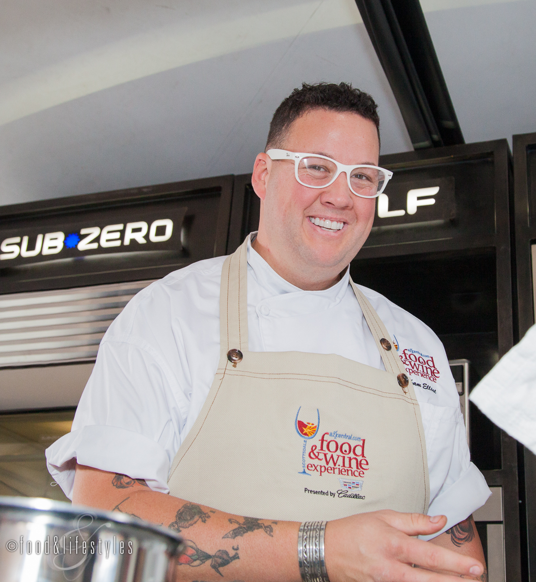 Chef and TV personality Graham Elliot ( photo by Food & Lifestyle )