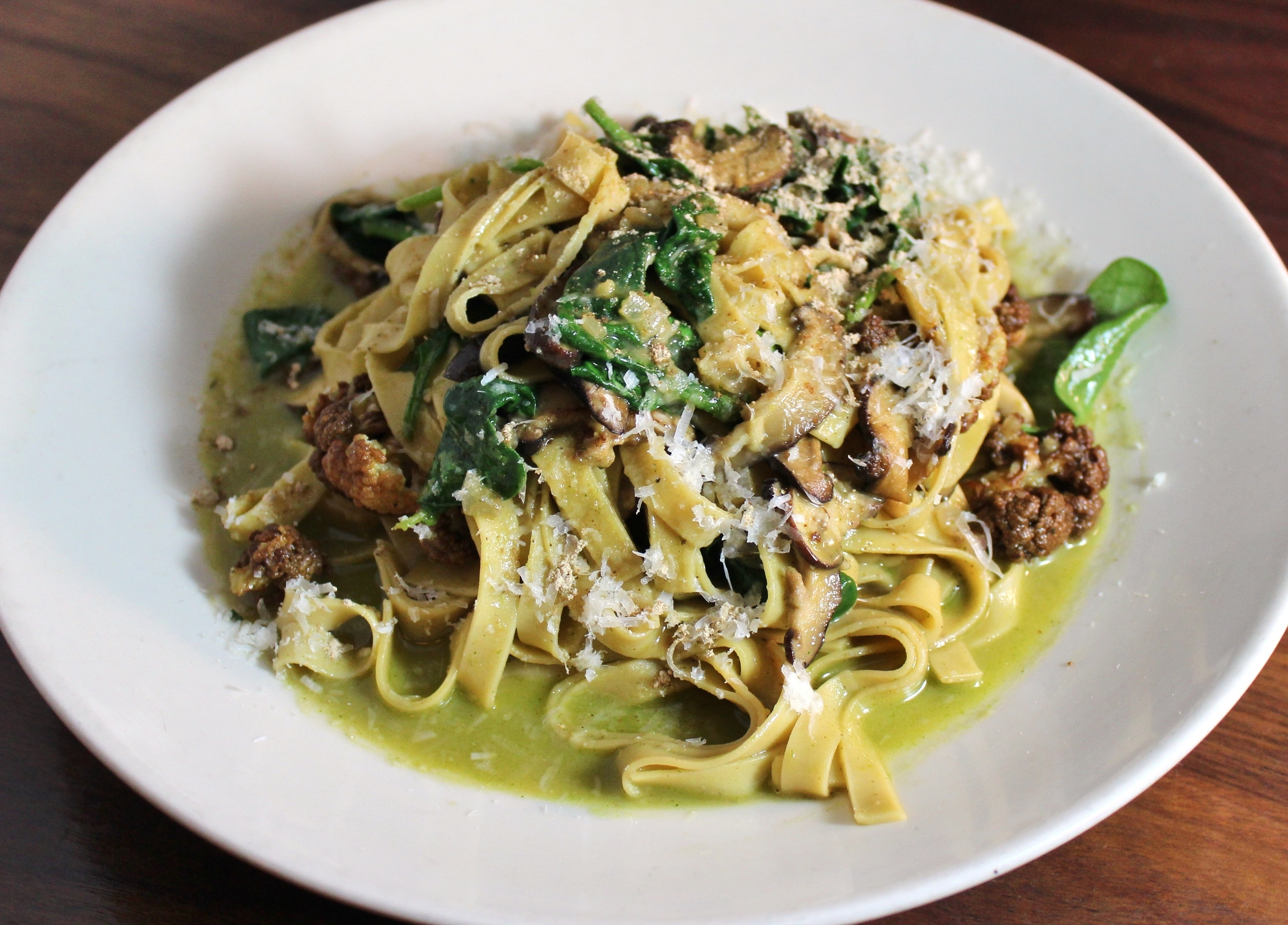 Mushroom pasta Southern Rail