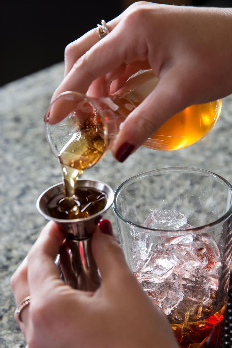 mesquite honey cocktail