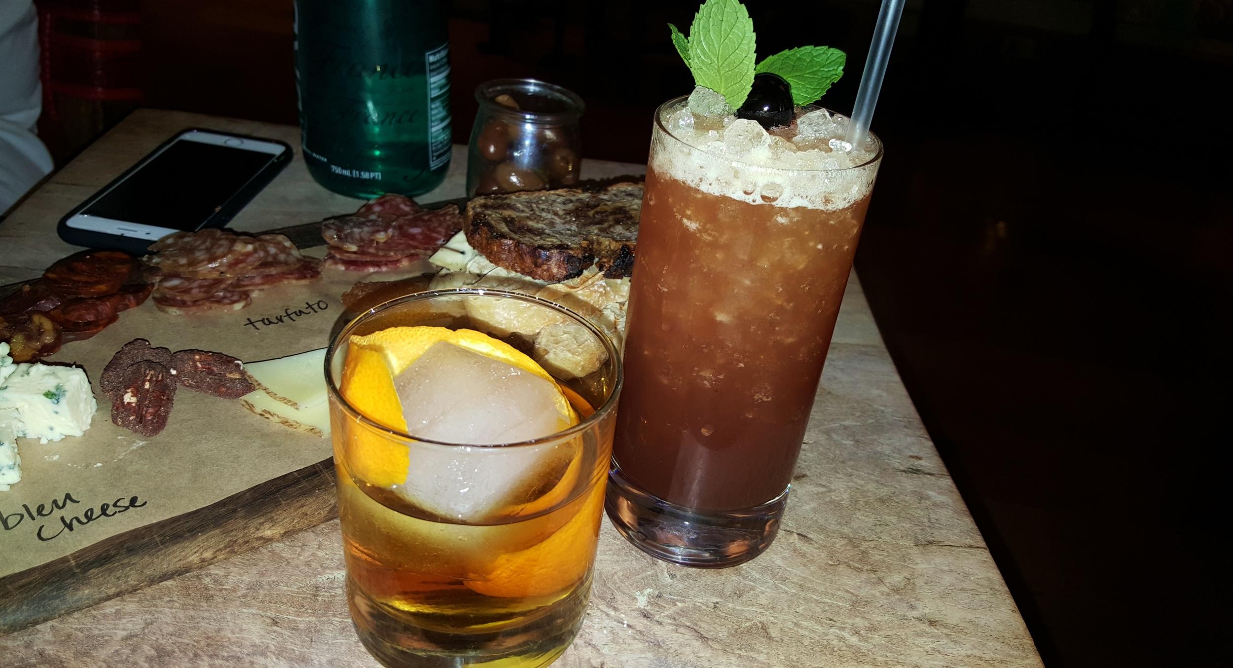 Old Fashioned and Cherry Loca