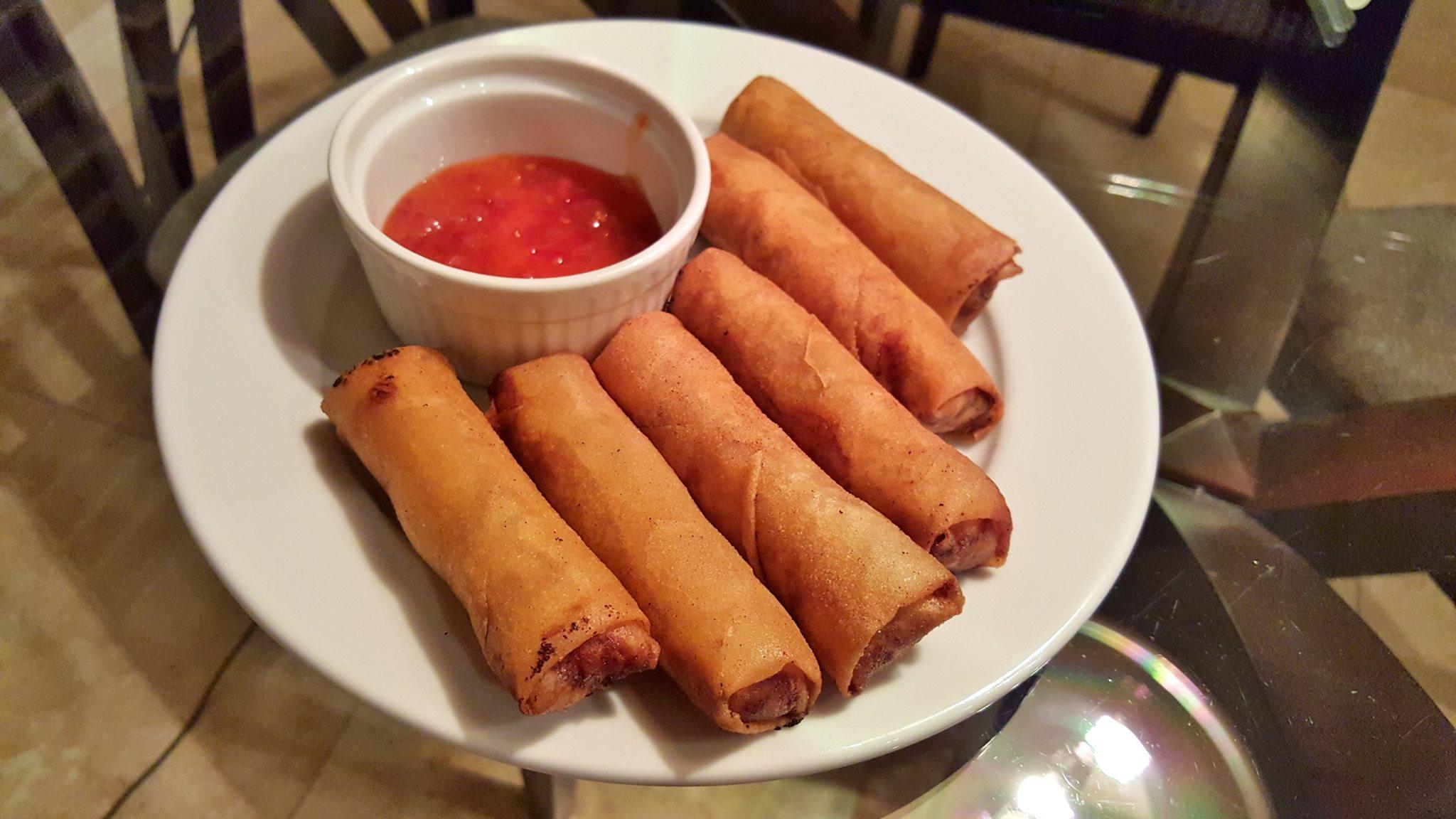 Mom's Vietnamese spring rolls