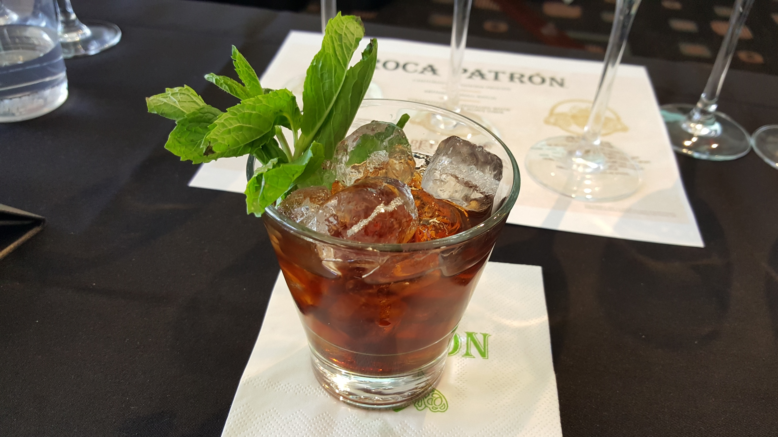 Roca Silver and XO Cafe Julep