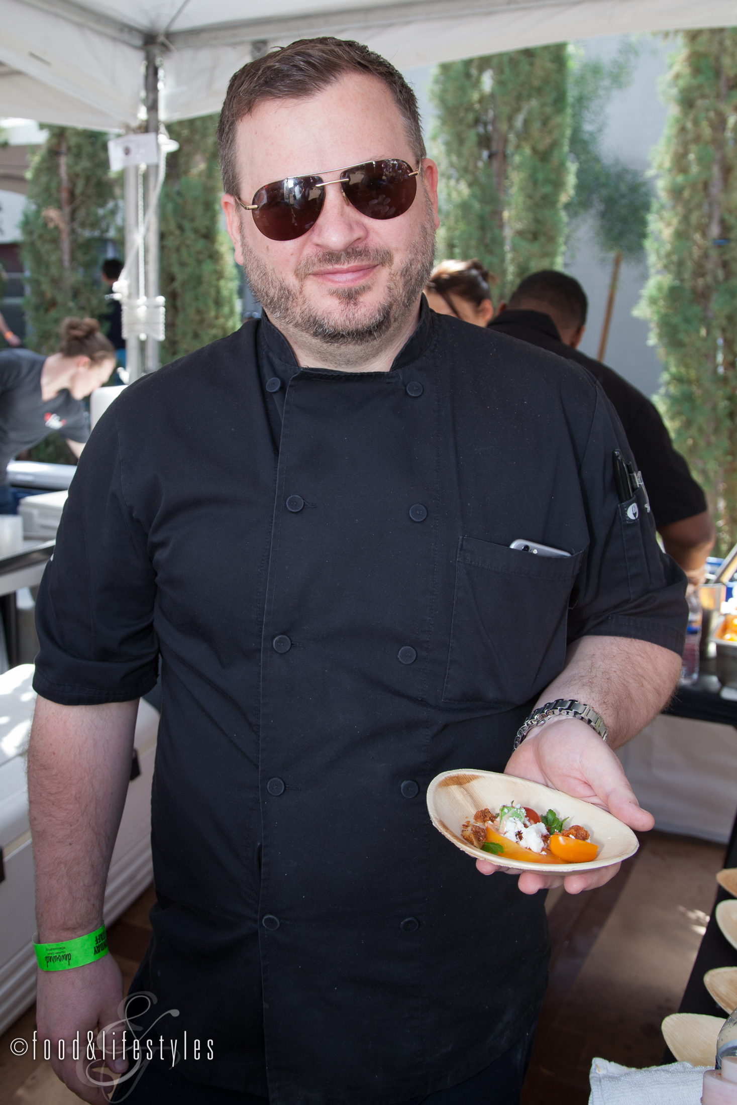 Chef Cullen Campbell of Okra