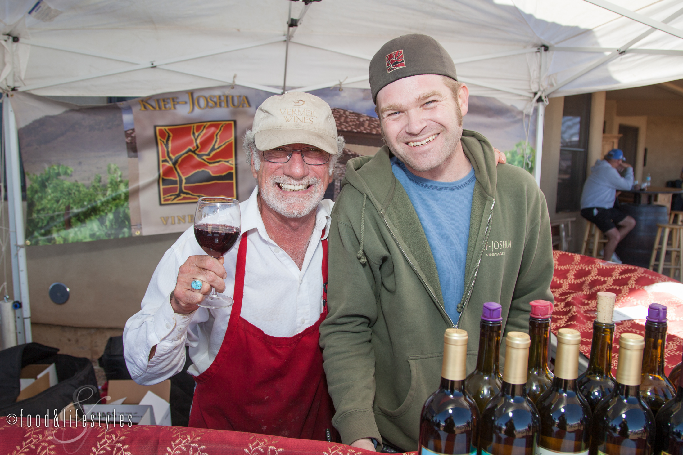 Winemaker Kief Joshua Manning.