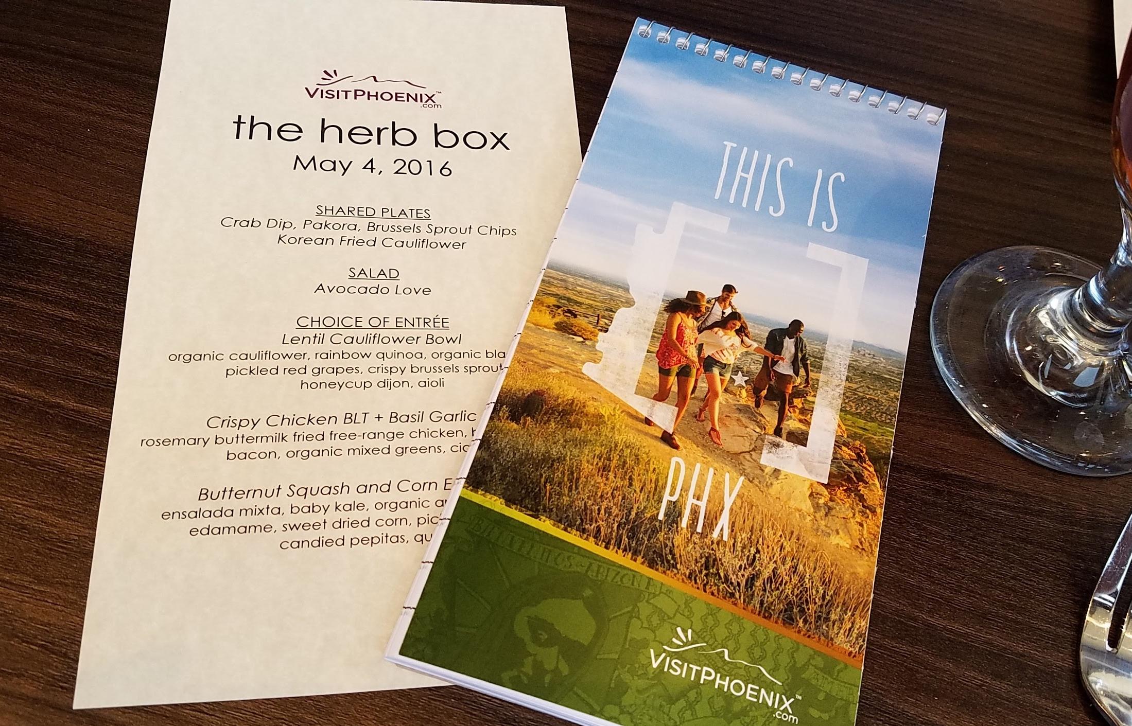 Herb Box Scottsdale