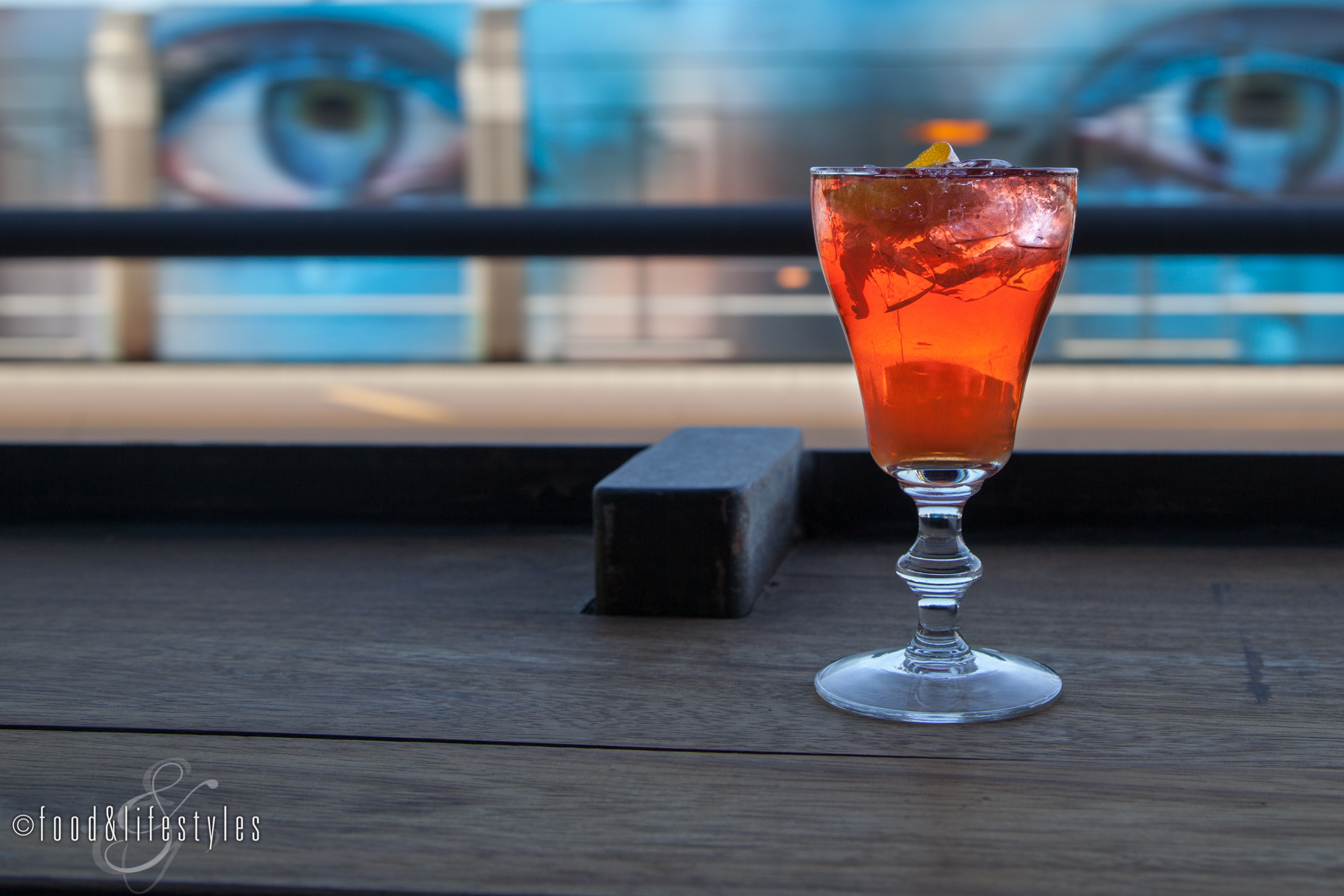The Negroni at Southern Rail (all photos by Jenelle Bonifield of Food & Lifestyles)