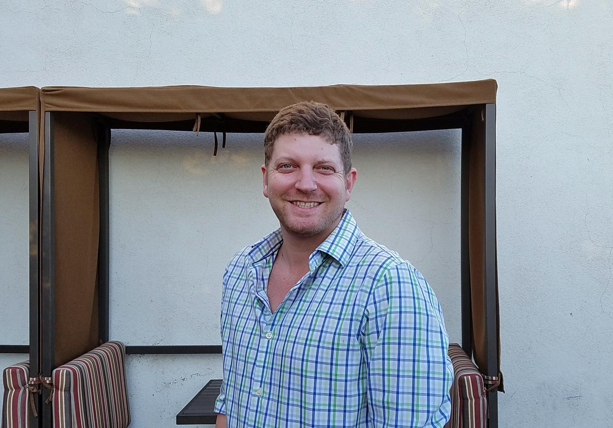 Owner Gavin Jacobs