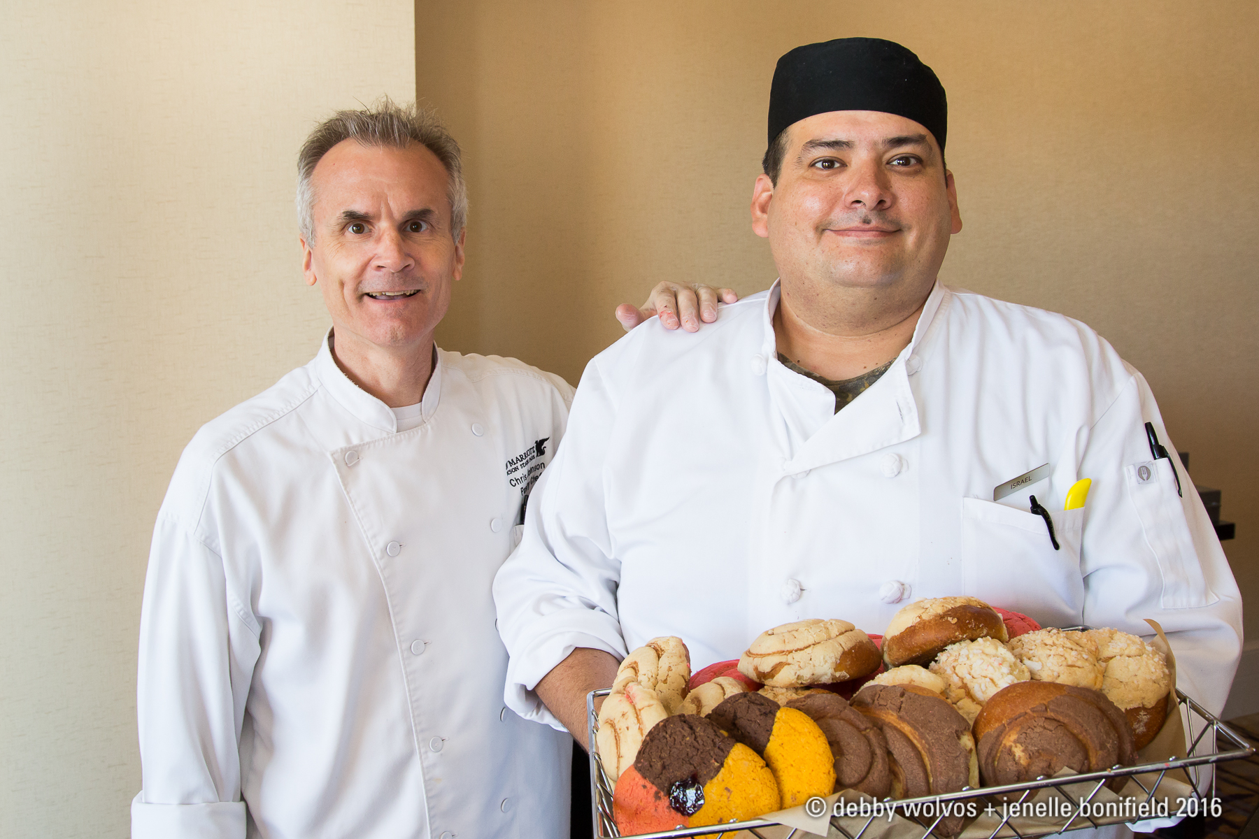 Pastry Chefs Chris Johnson and Israel