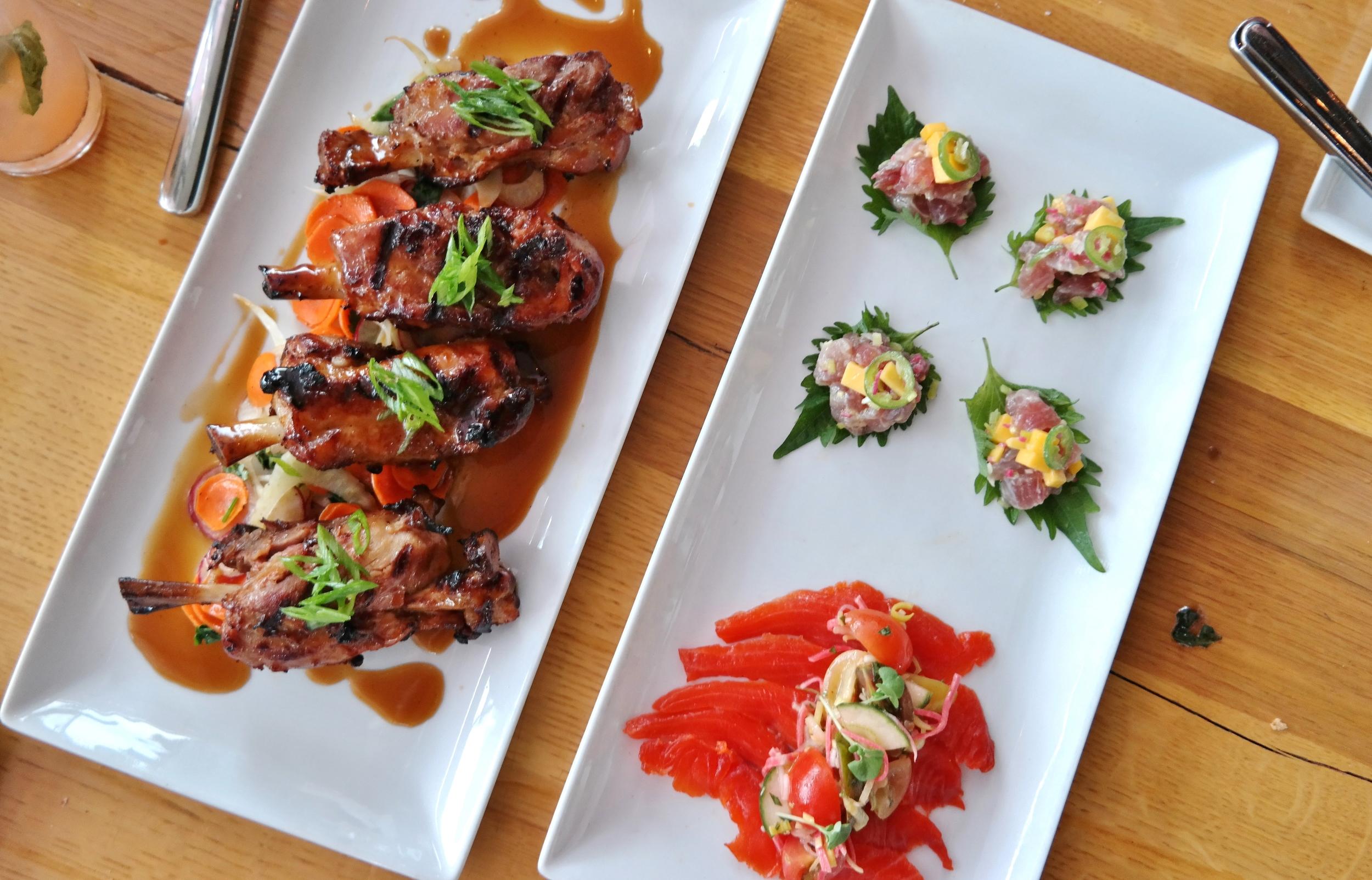 Market Street Kitchen: Piggy Wings, lomi lomi, and big eye poke