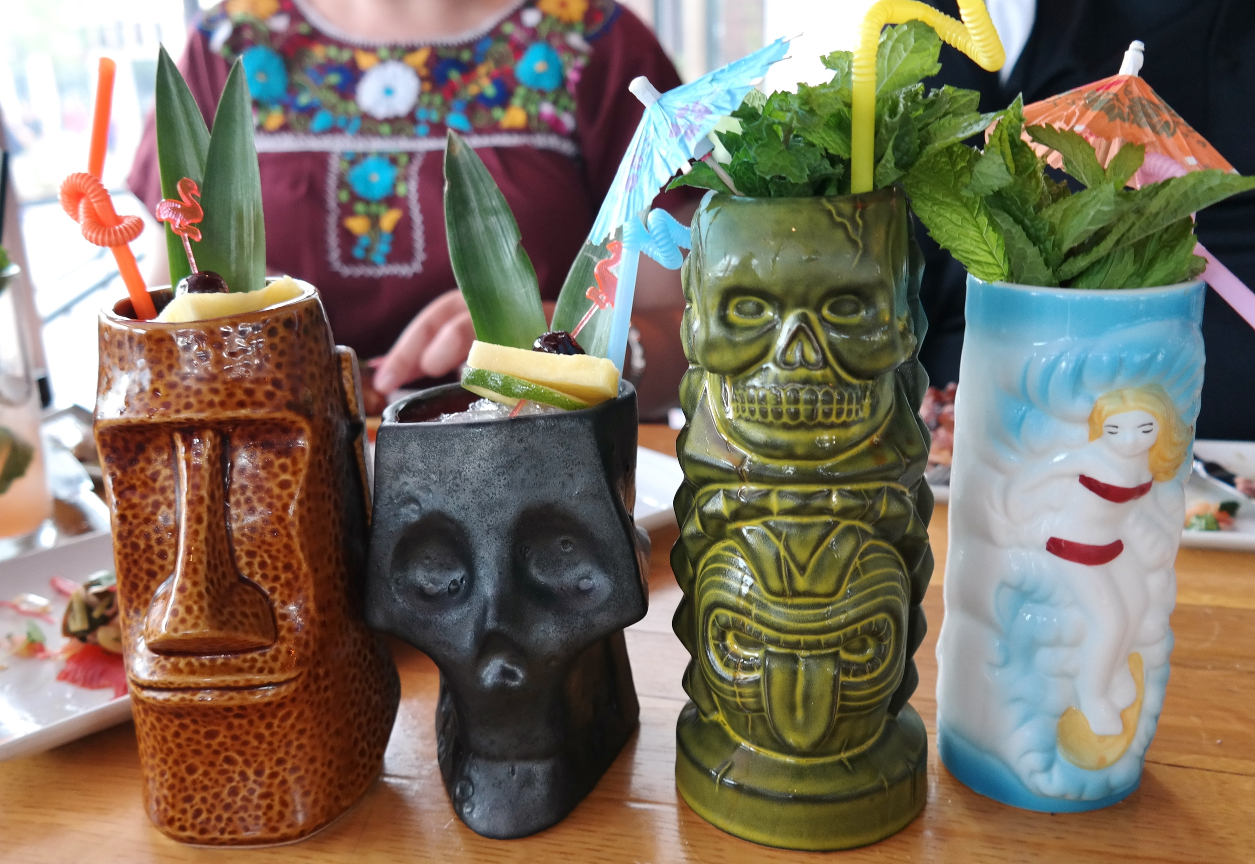 Market Street Kitchen TIKI drinks