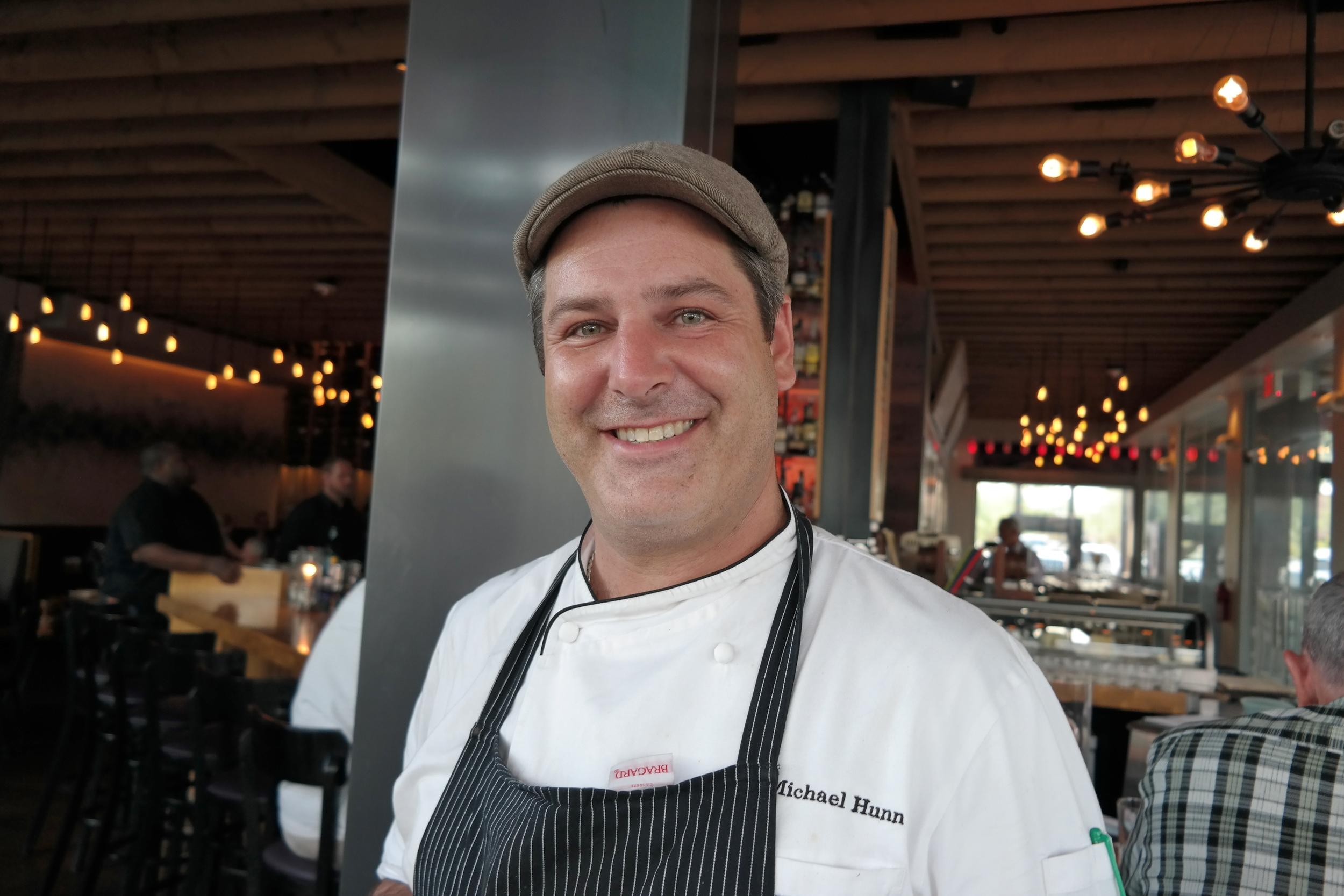 Chef Michael Hunn