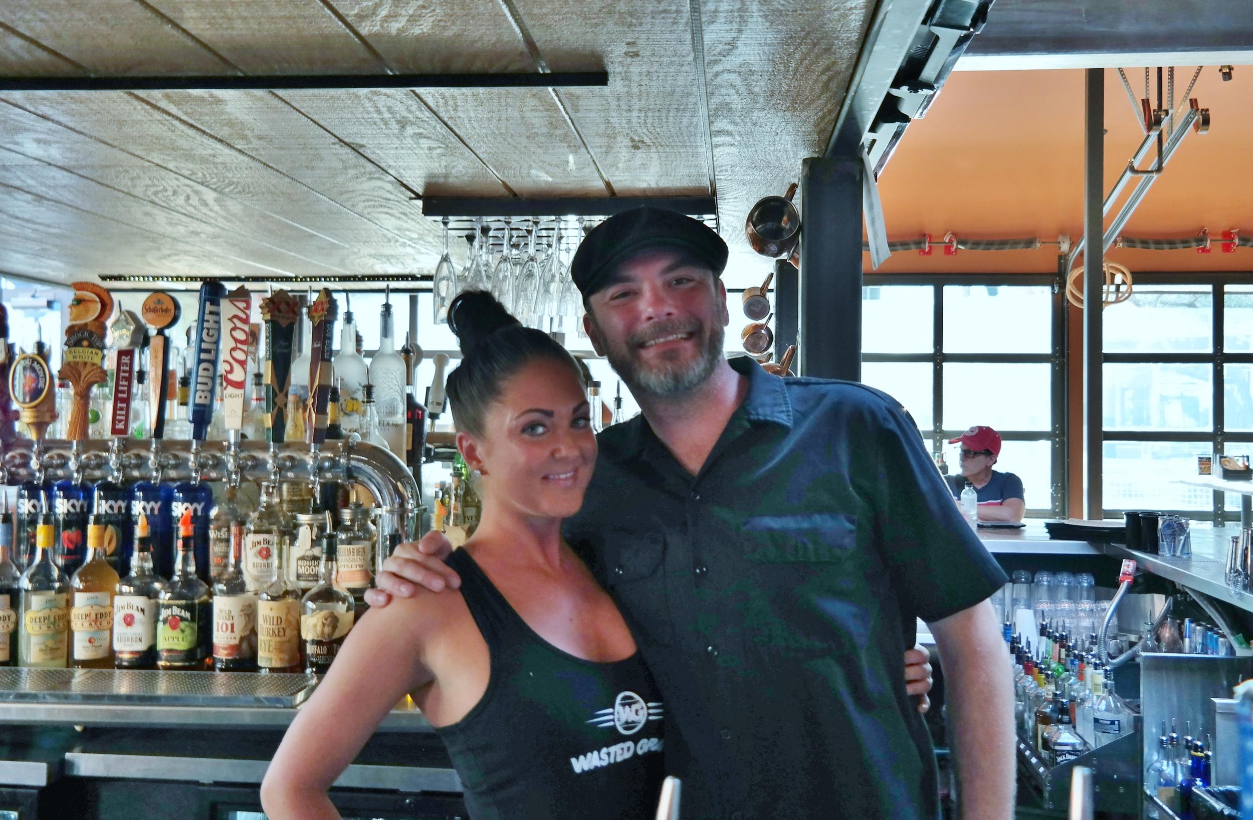 Tara Thorpe and Richie Moe