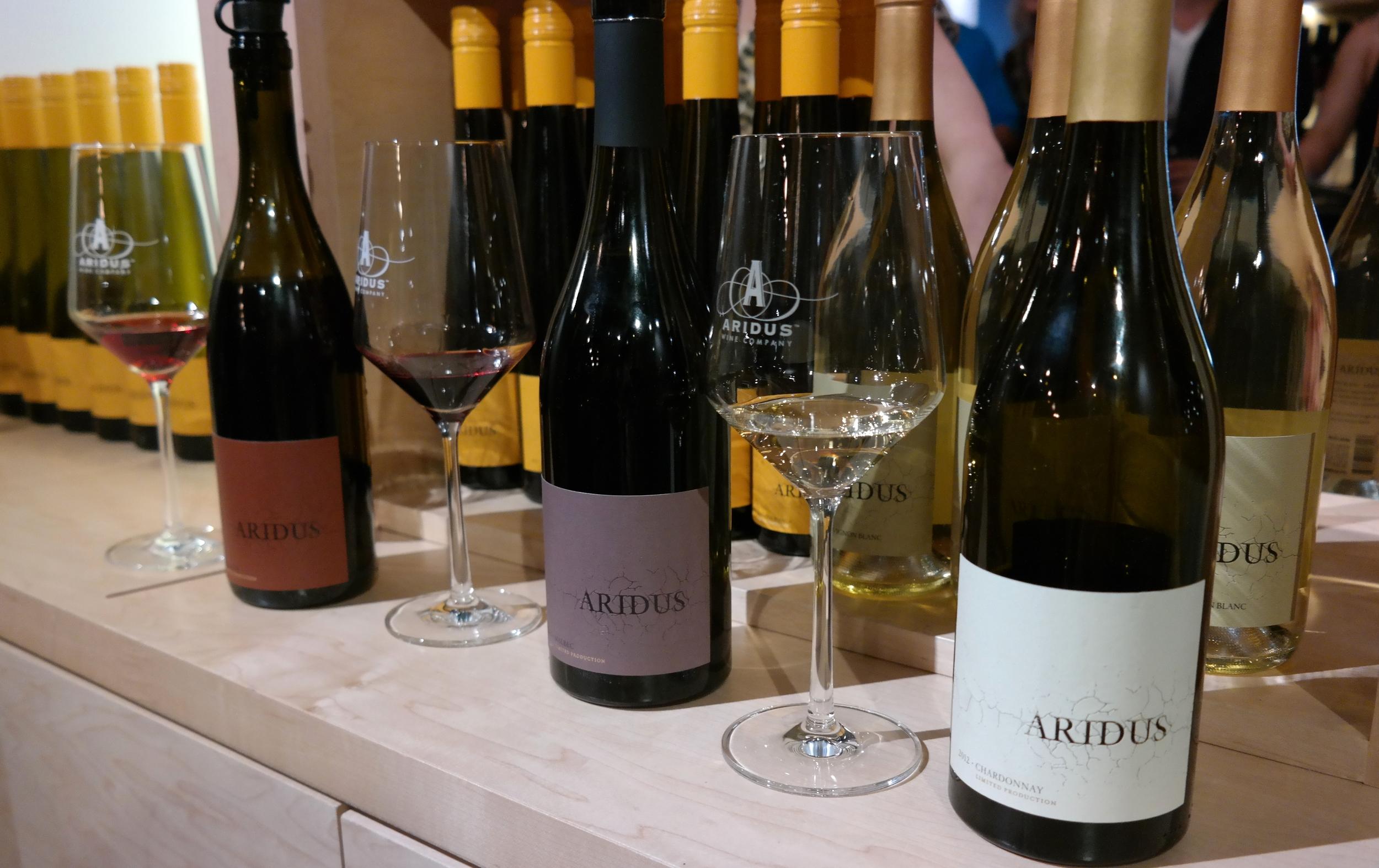 Aridus Wine Company Tasting Room