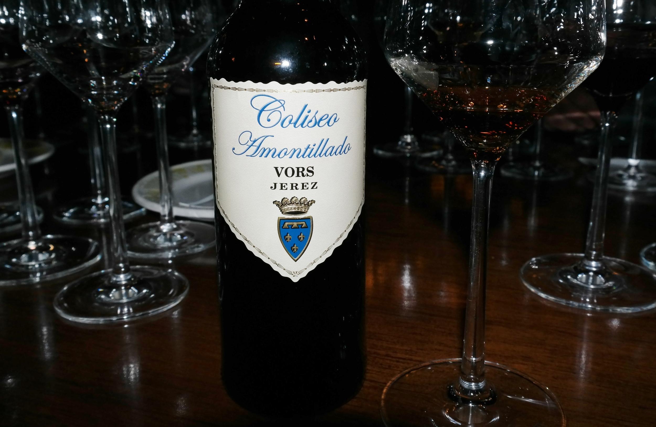Amontillado sherry Celler de Can Roca