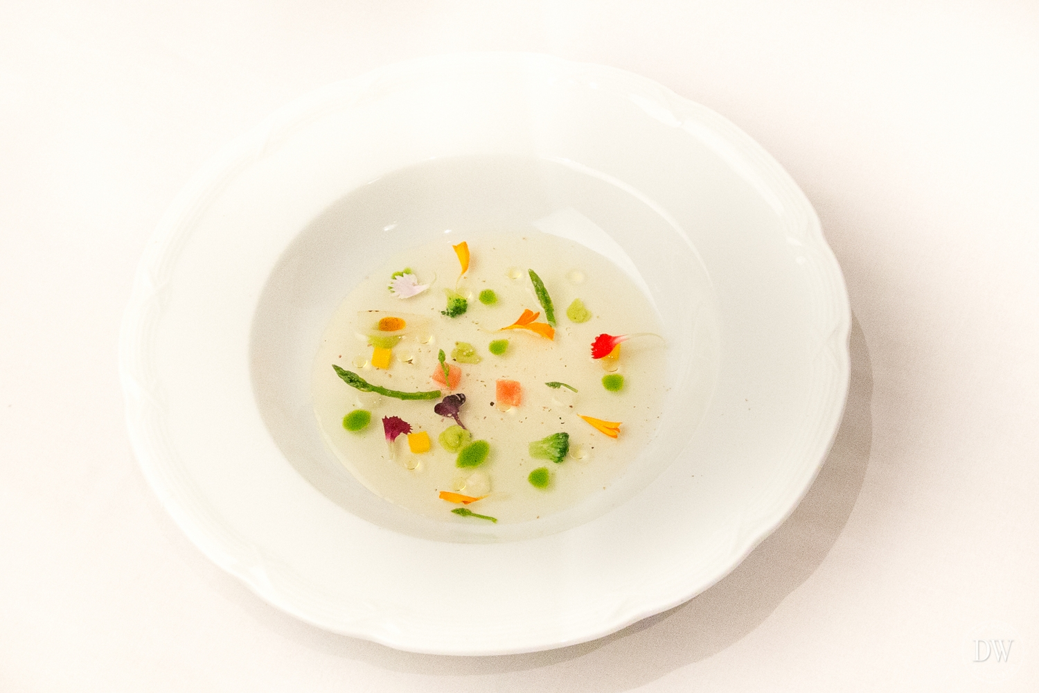 Vegetable consommé