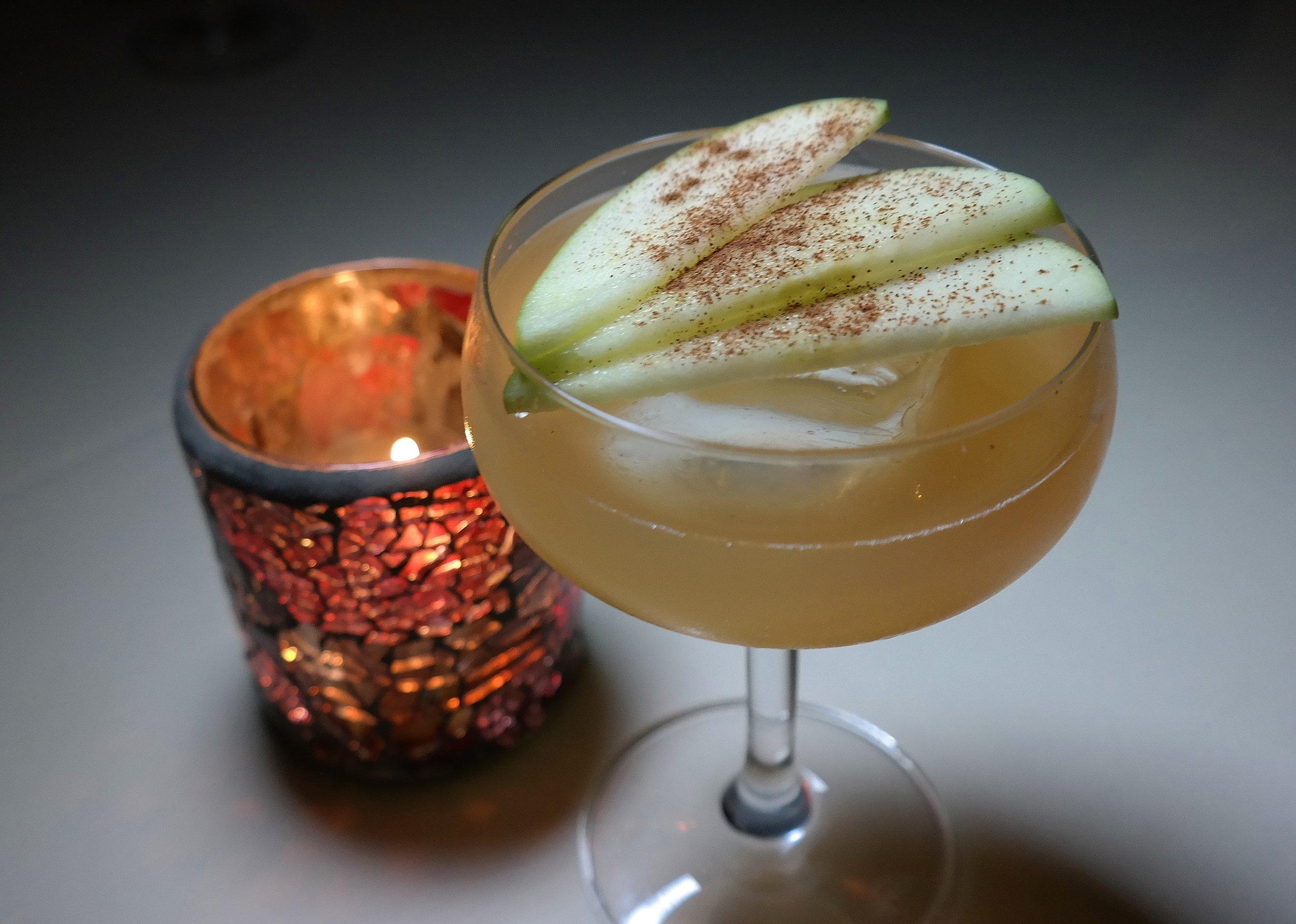 Michael Regan champagne cocktail