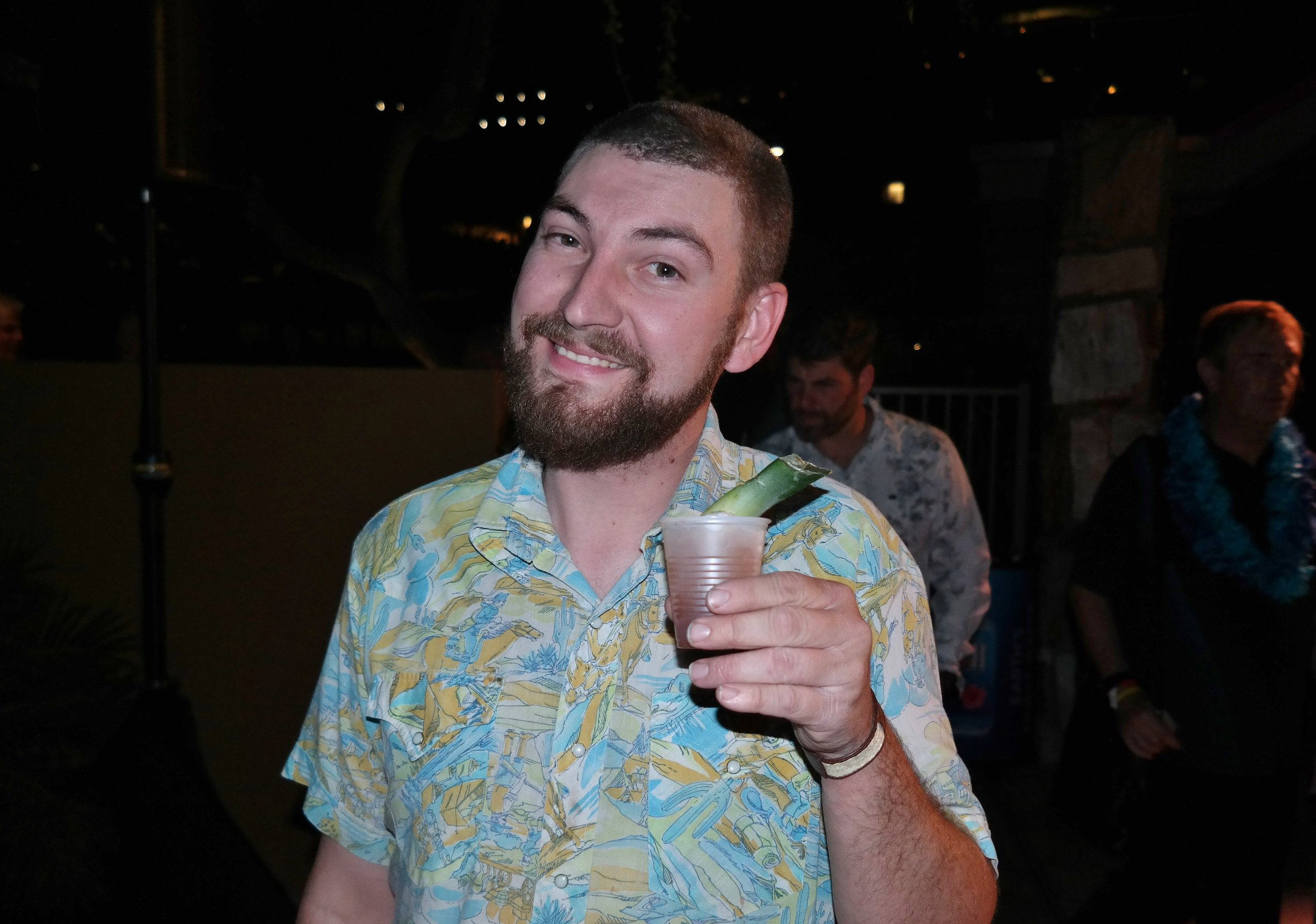 Michael Regan of the Mix-Up Bar at Royal Palms