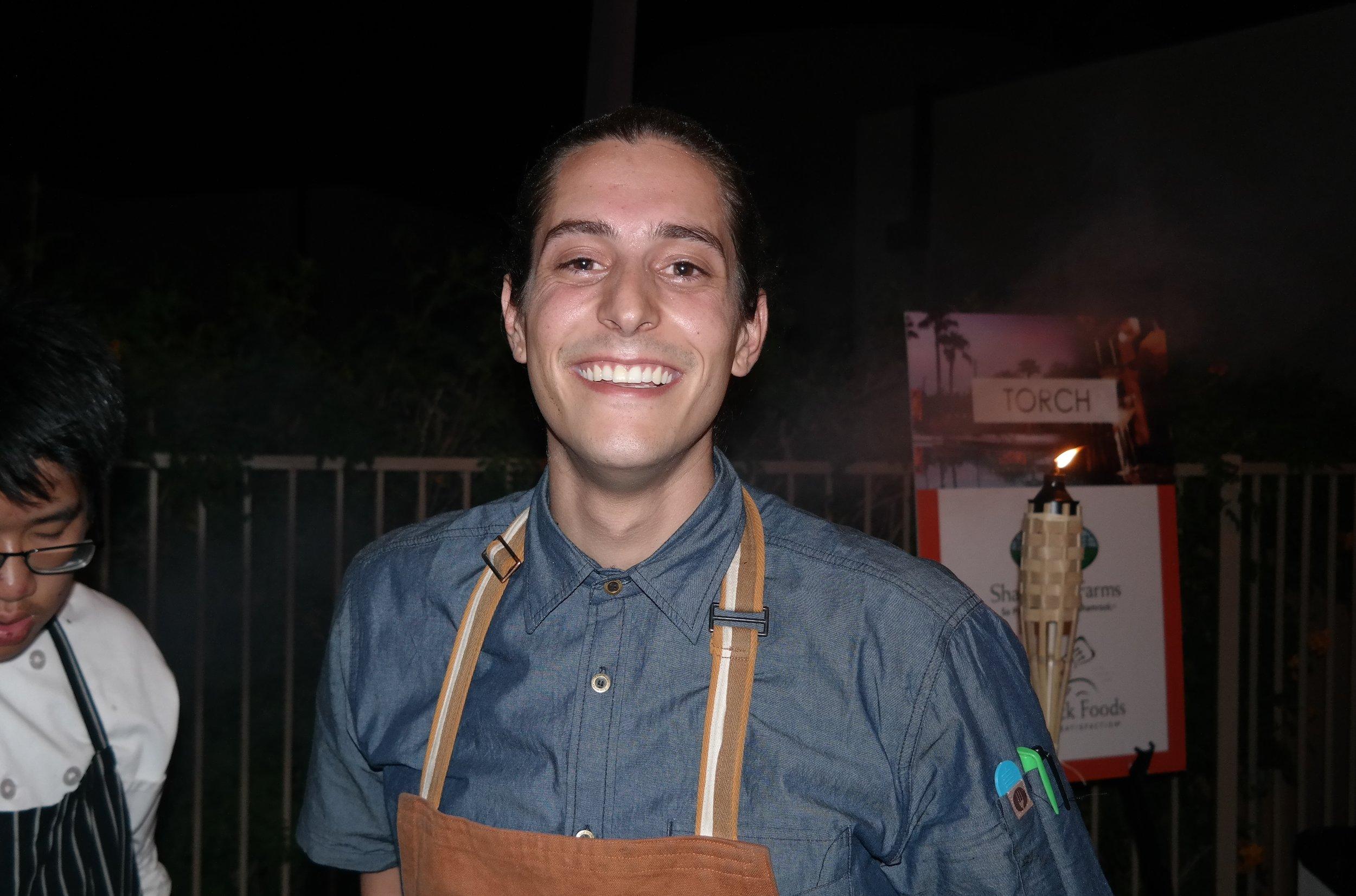 Chef Jordano Sessions of Second Story Liquor Bar