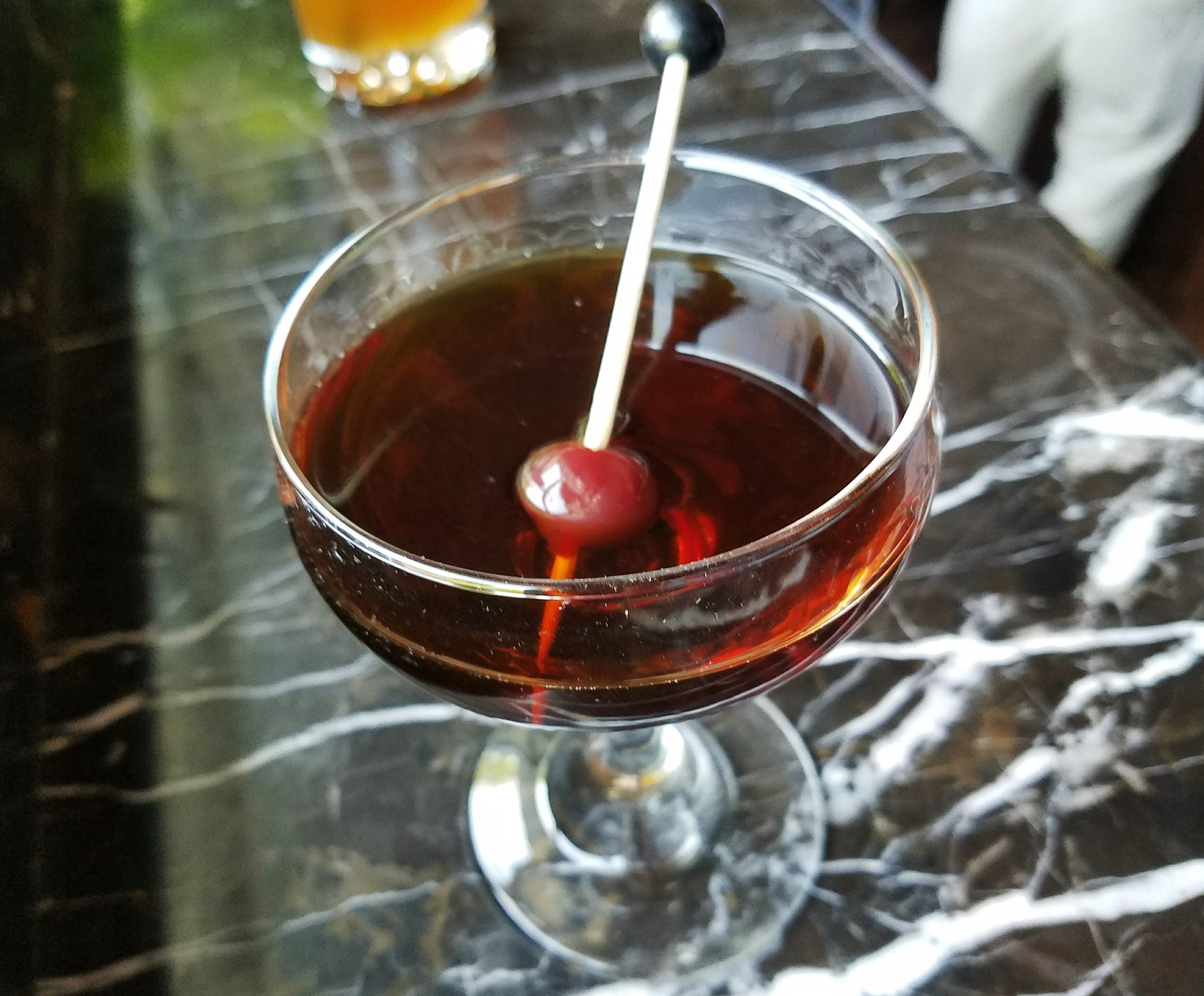 Smoked Manhattan
