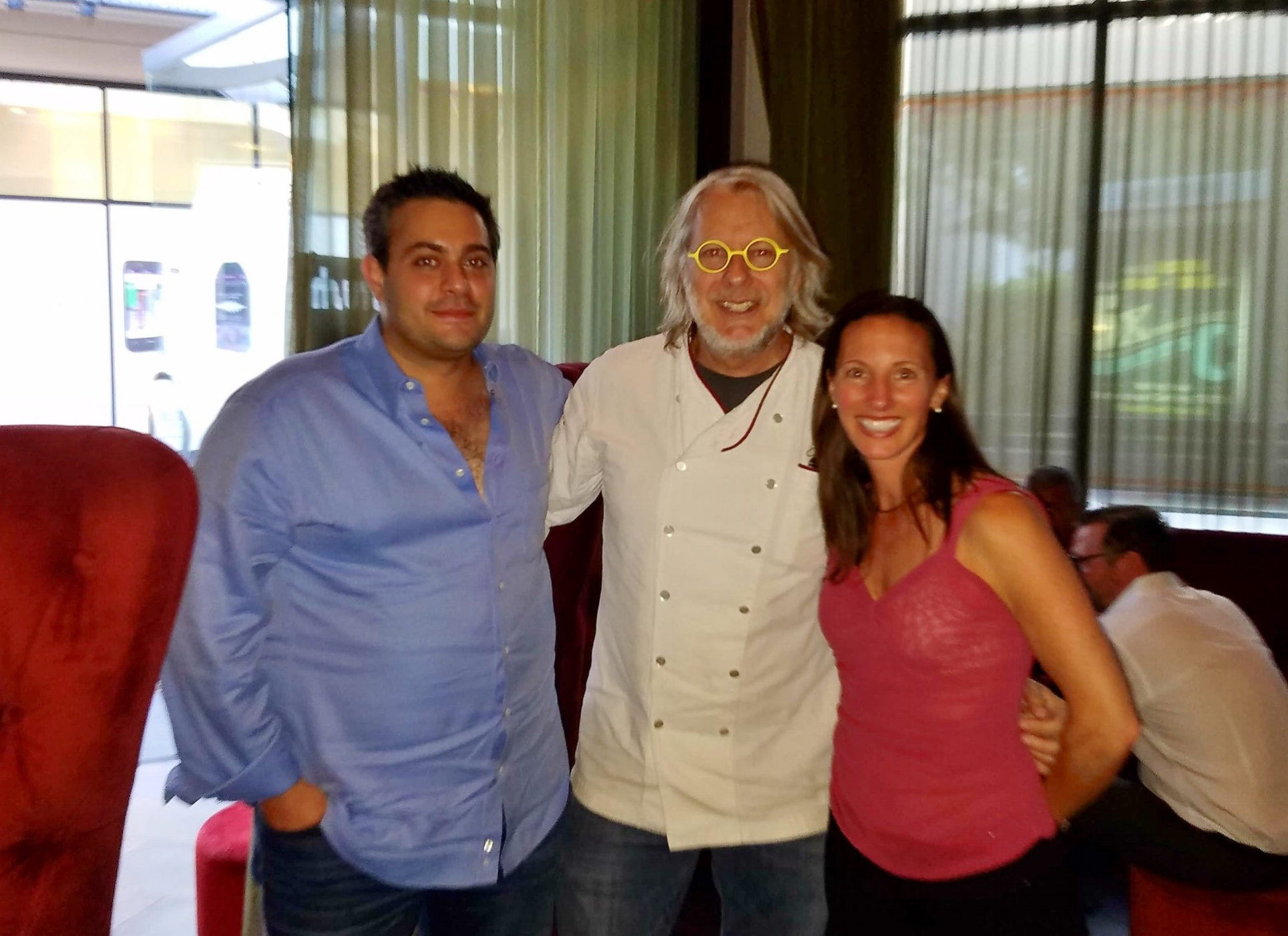 Babak Motamedi, Chef Christopher Gross, Laura Williamson, MS