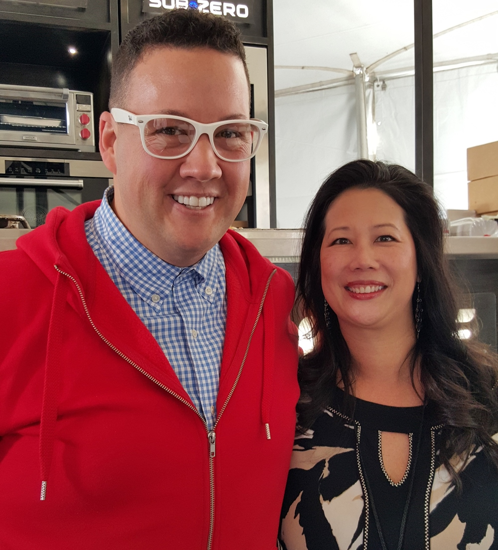 Graham Elliot of MasterChef